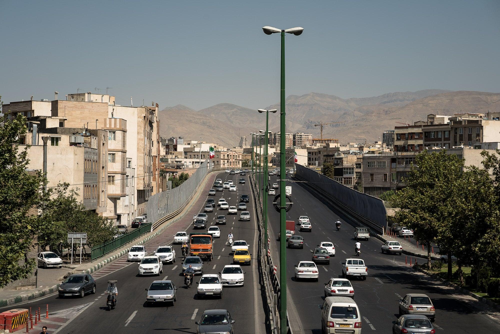 Tehran road