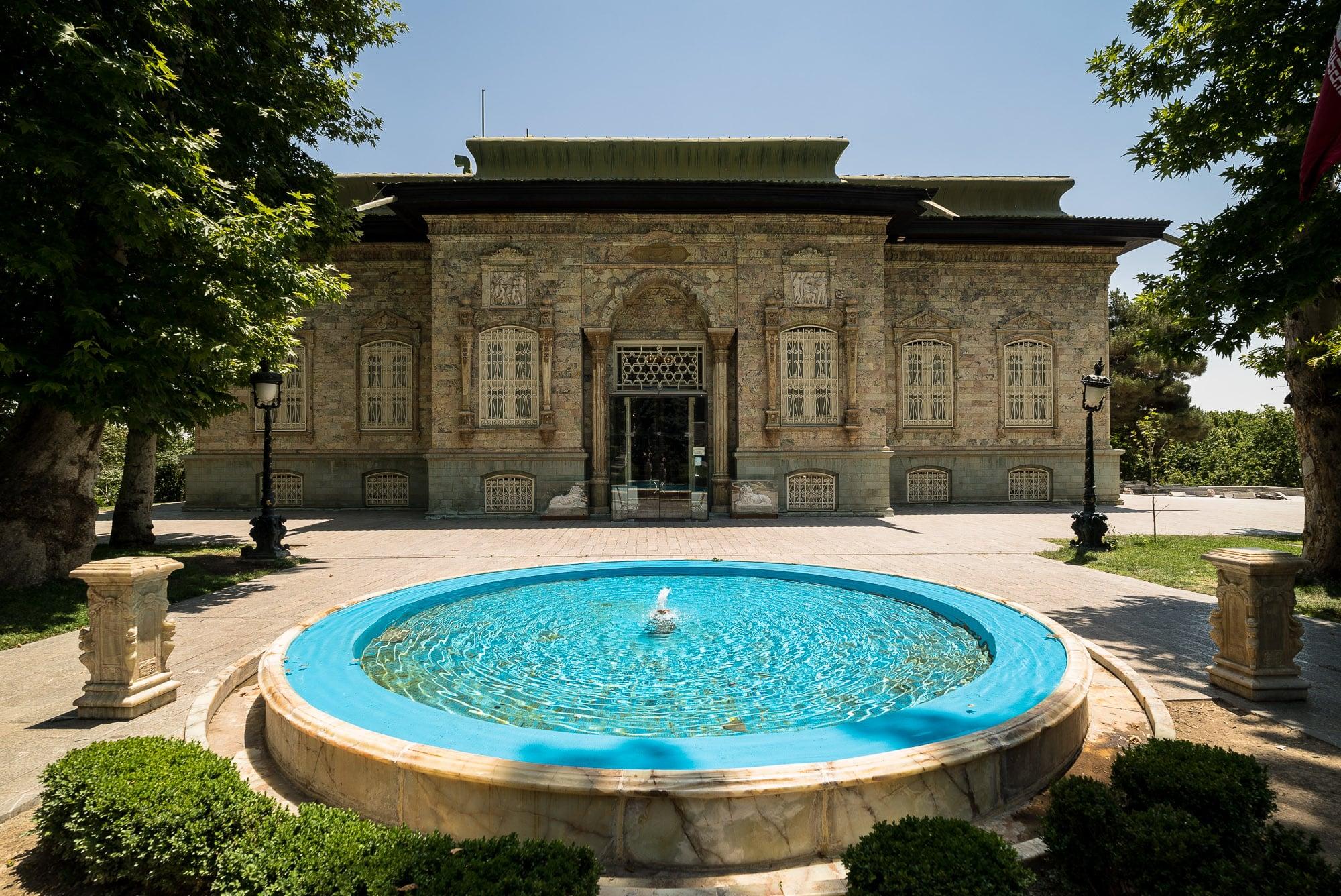 Green Palace in Saadabad