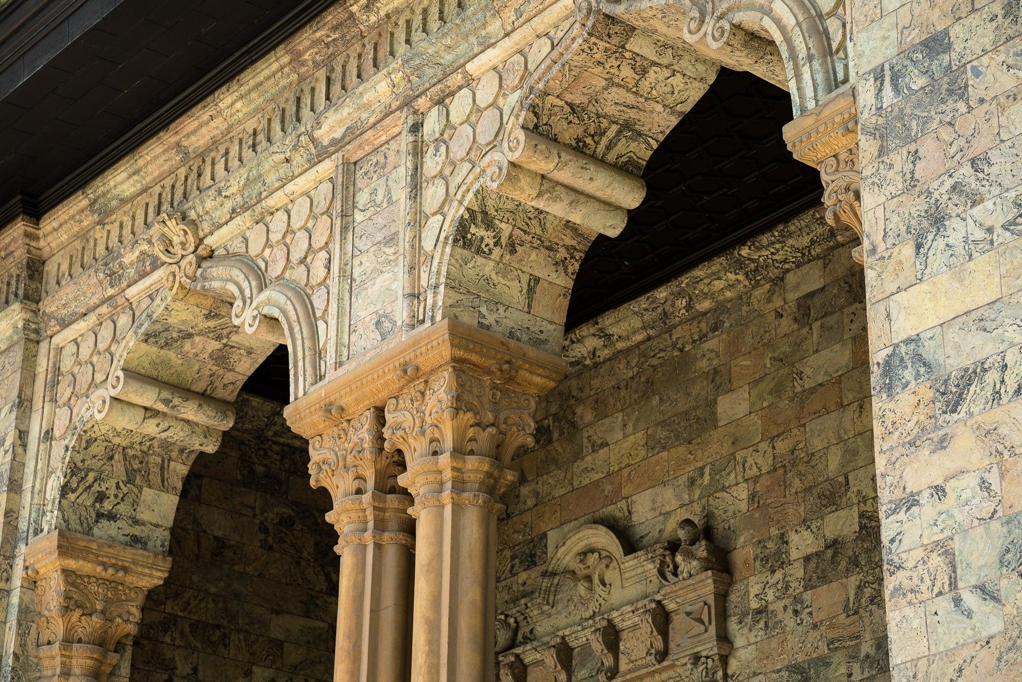 Green Palace detail
