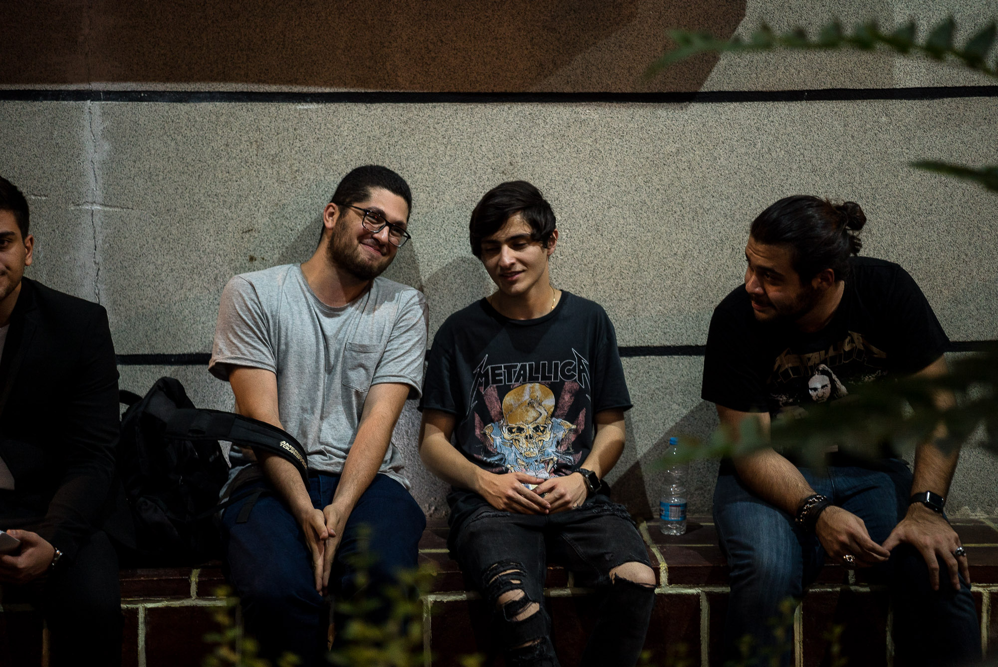 young metal fans in Tehran