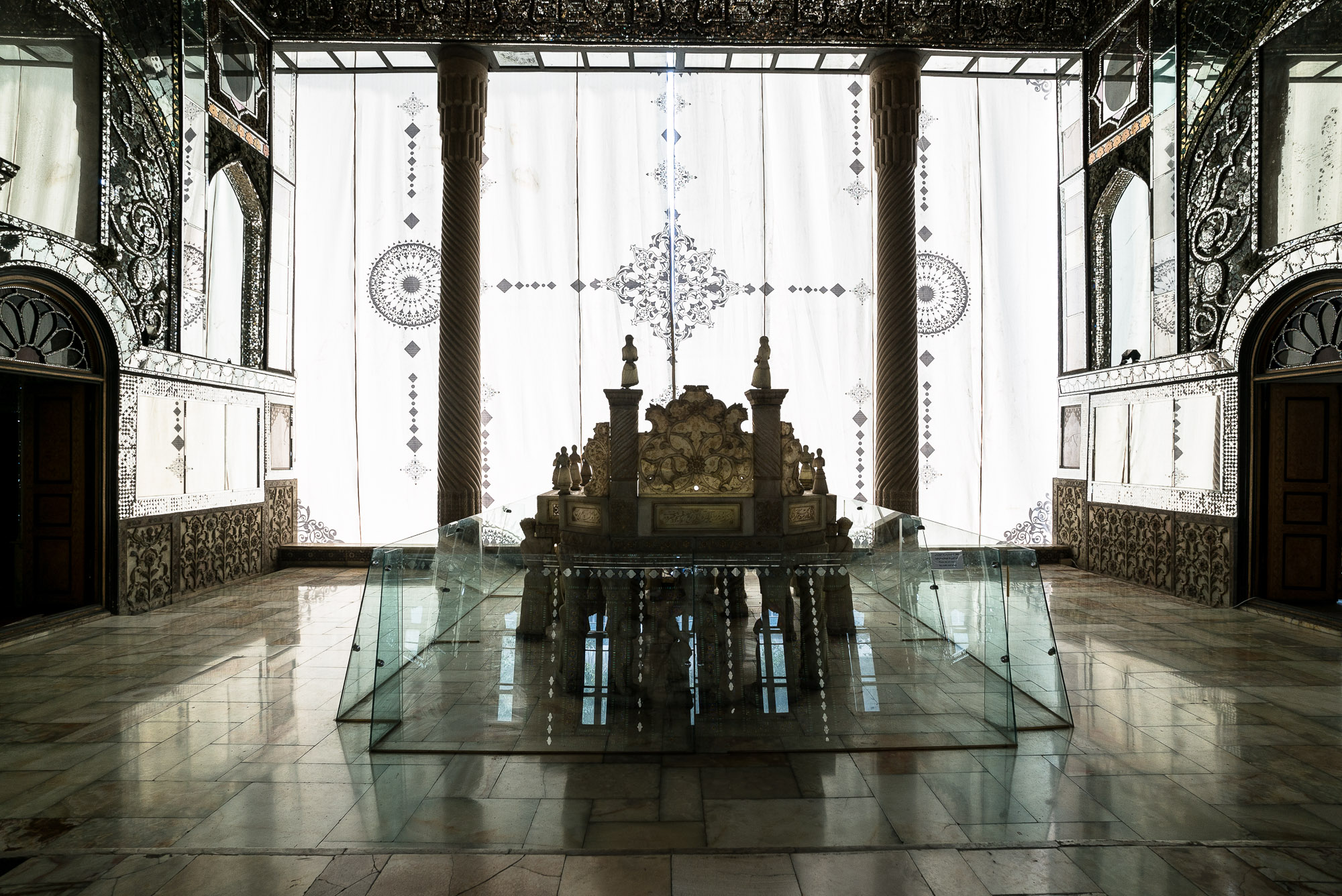 Golestan Palace throne