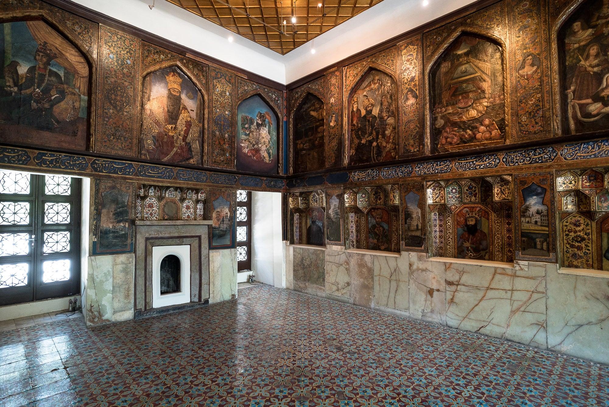Golestan palace hall