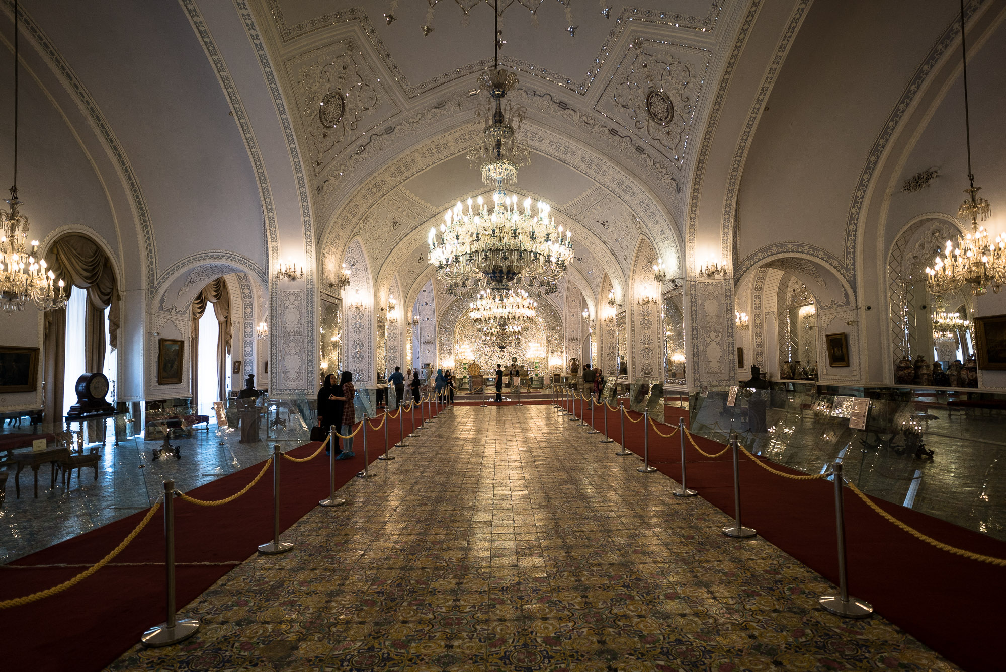 Golestan Palace large hall
