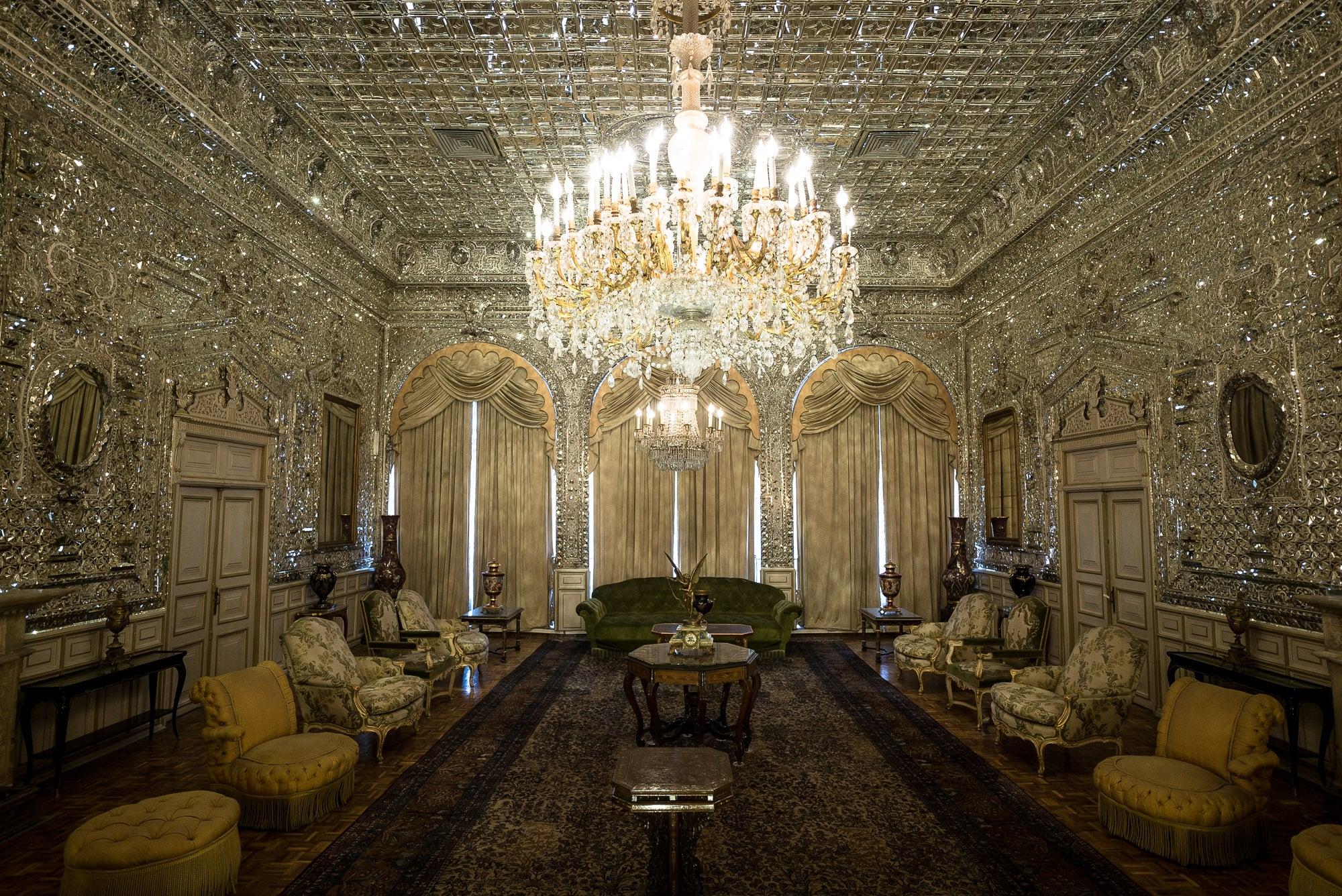 Golestan Palace mirror hall
