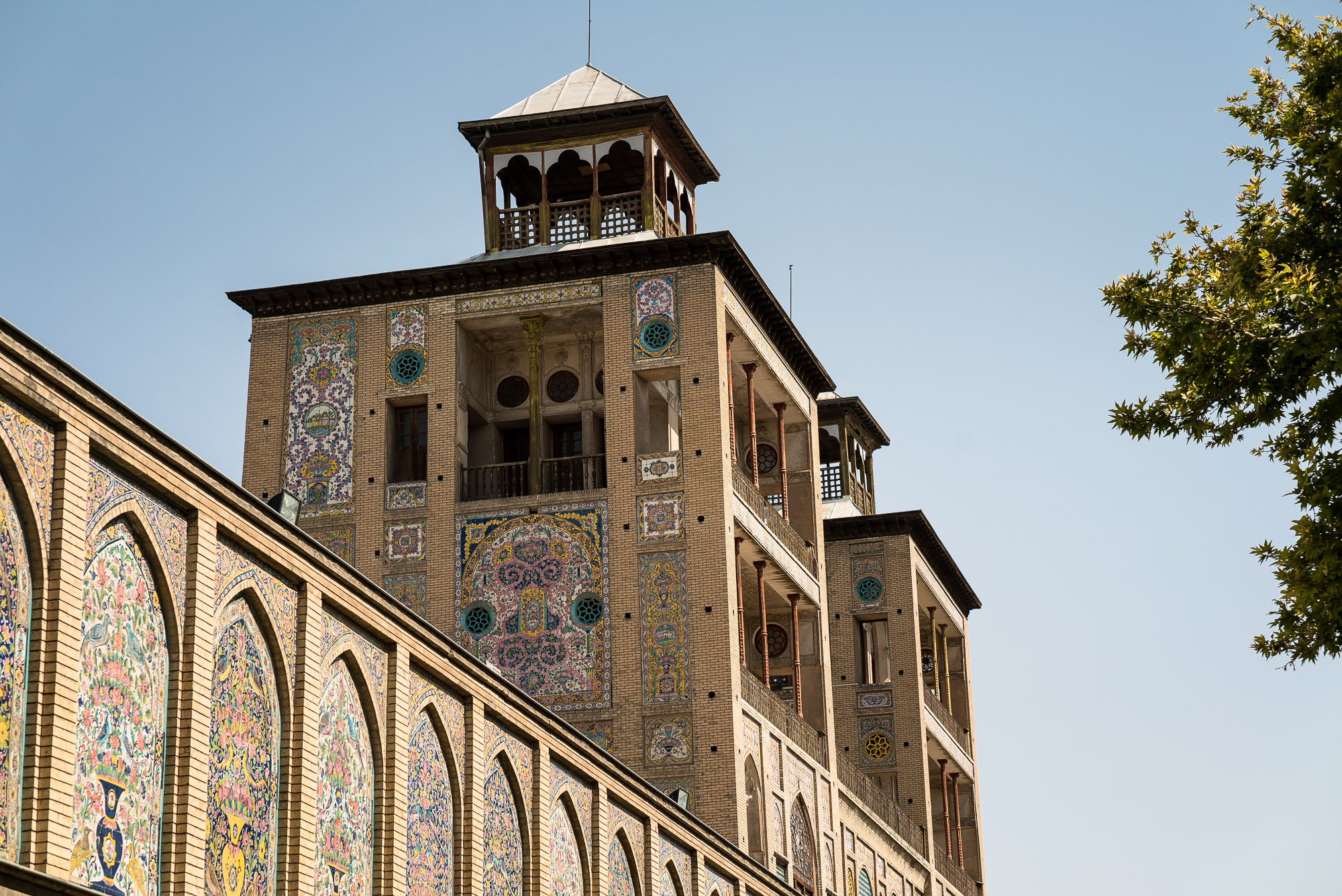 Golestan Palace Edifice Of The Sun