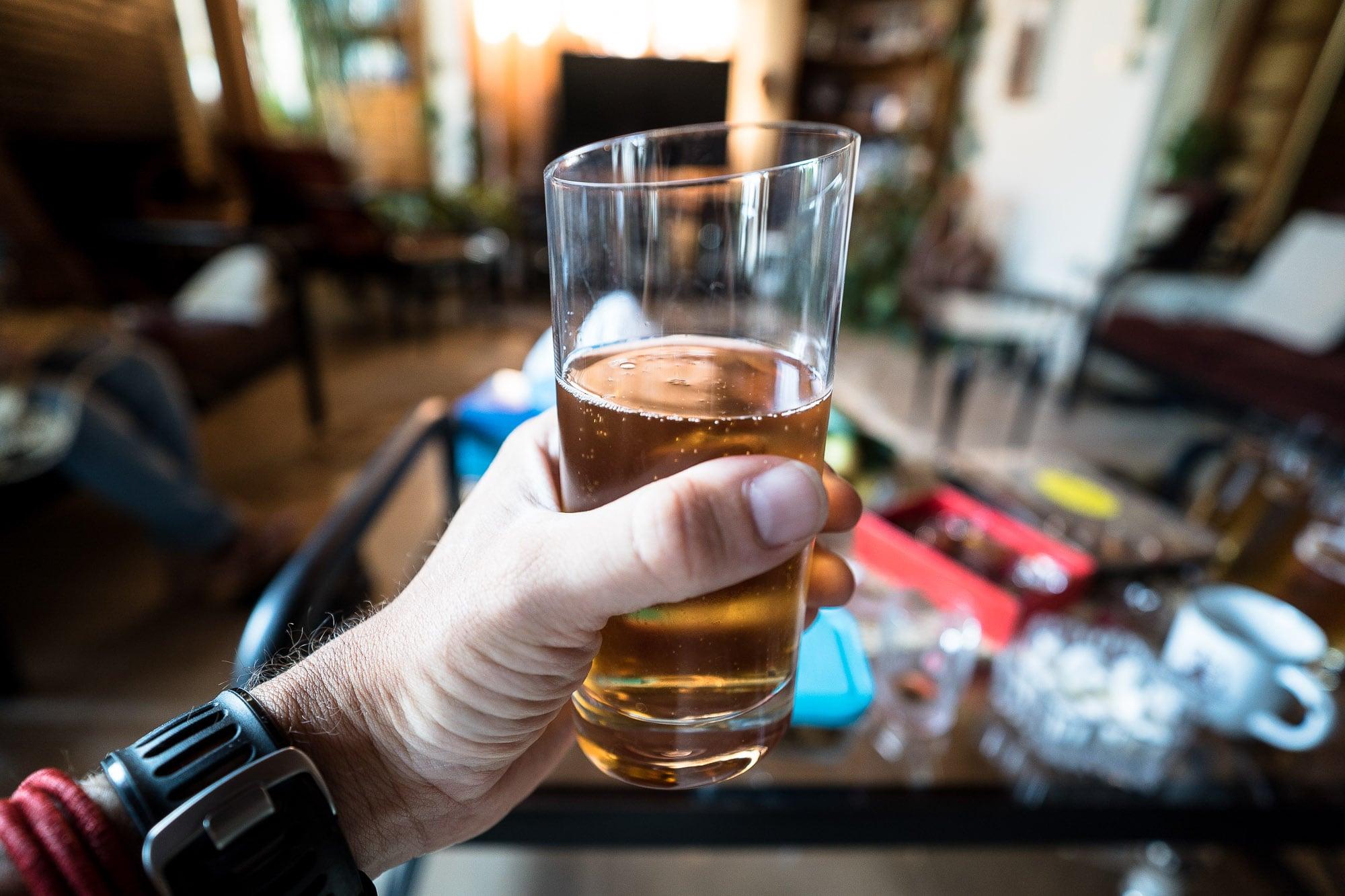 Iranian home brewed beer