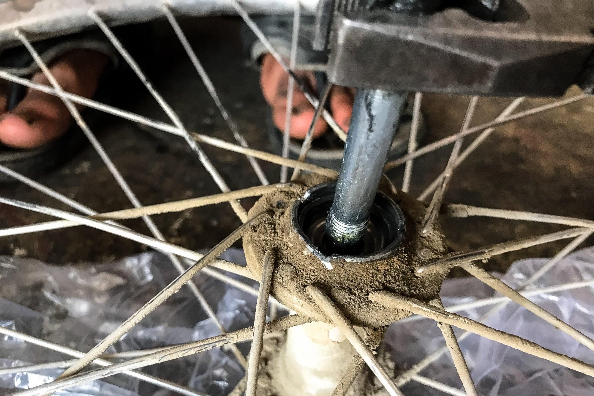 spoke repair