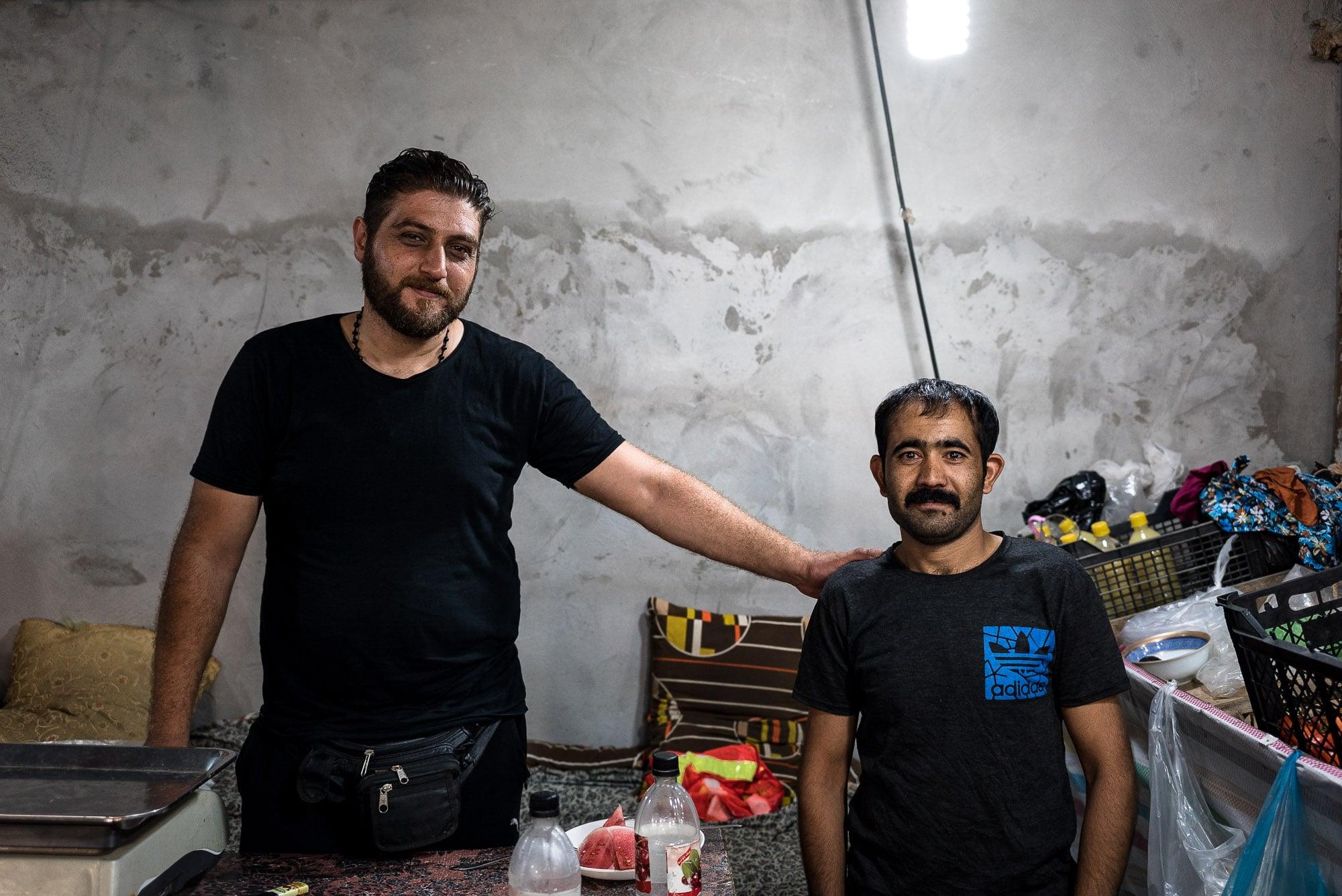 Ali and Abdullah