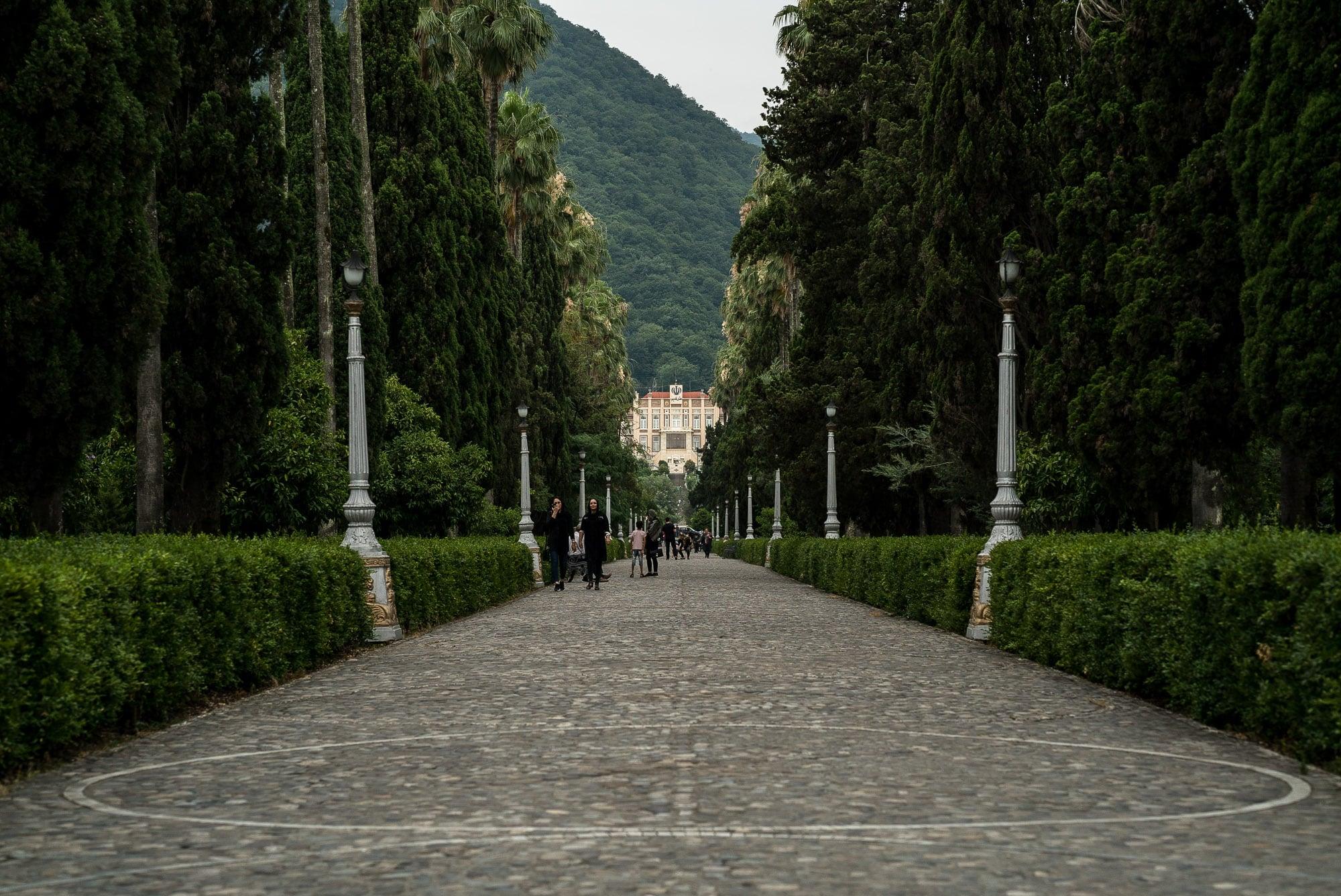 promenade in Ramsar