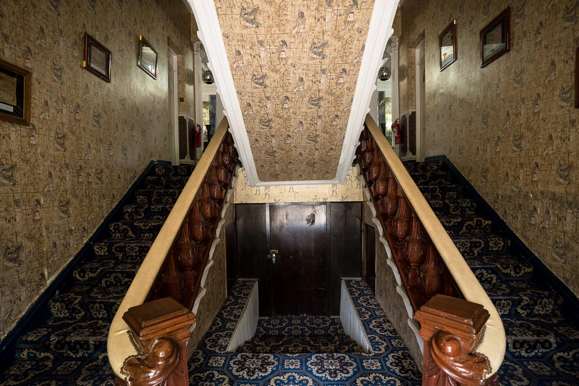 stairway in Ramsar Hotel