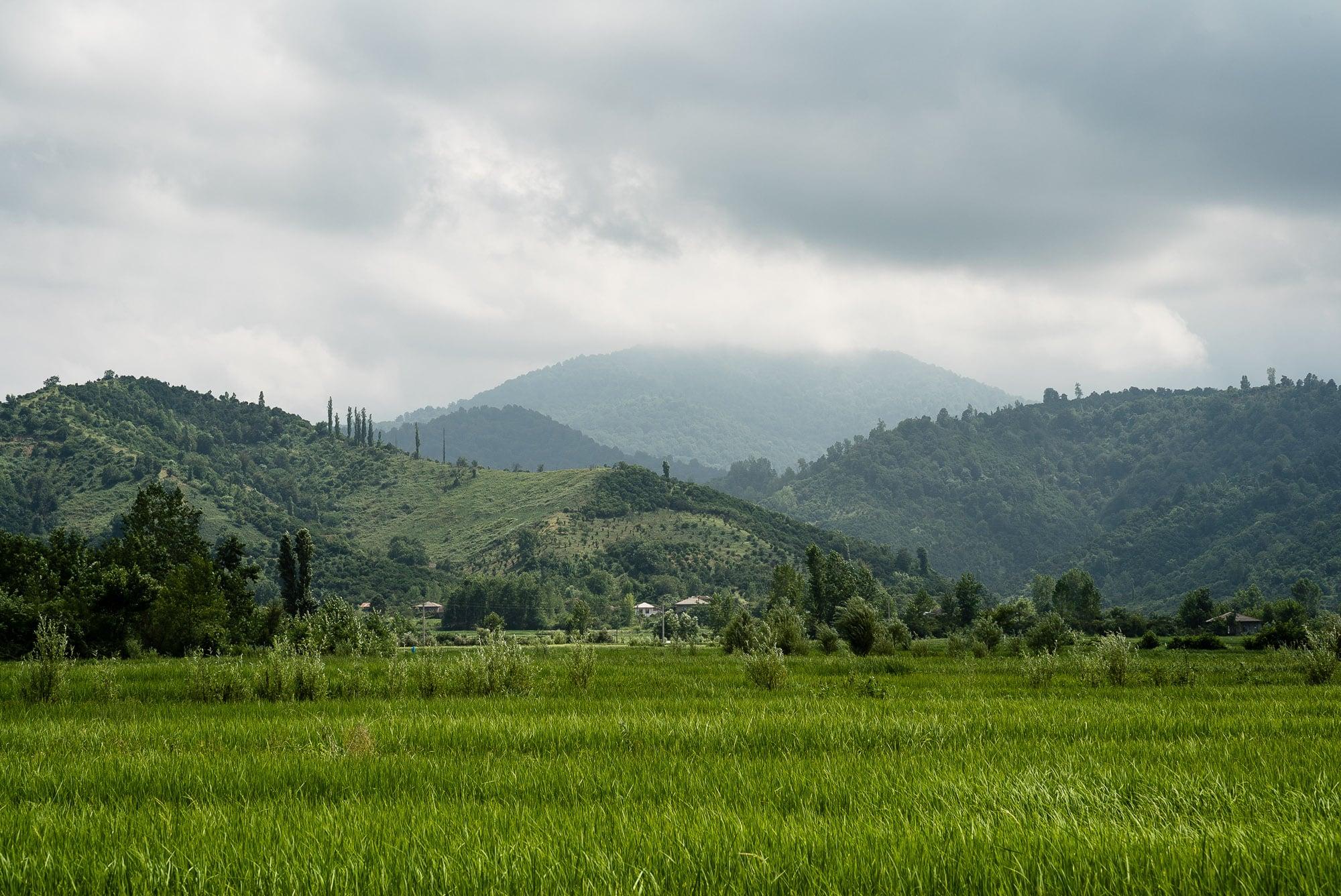 mountains in Gilan
