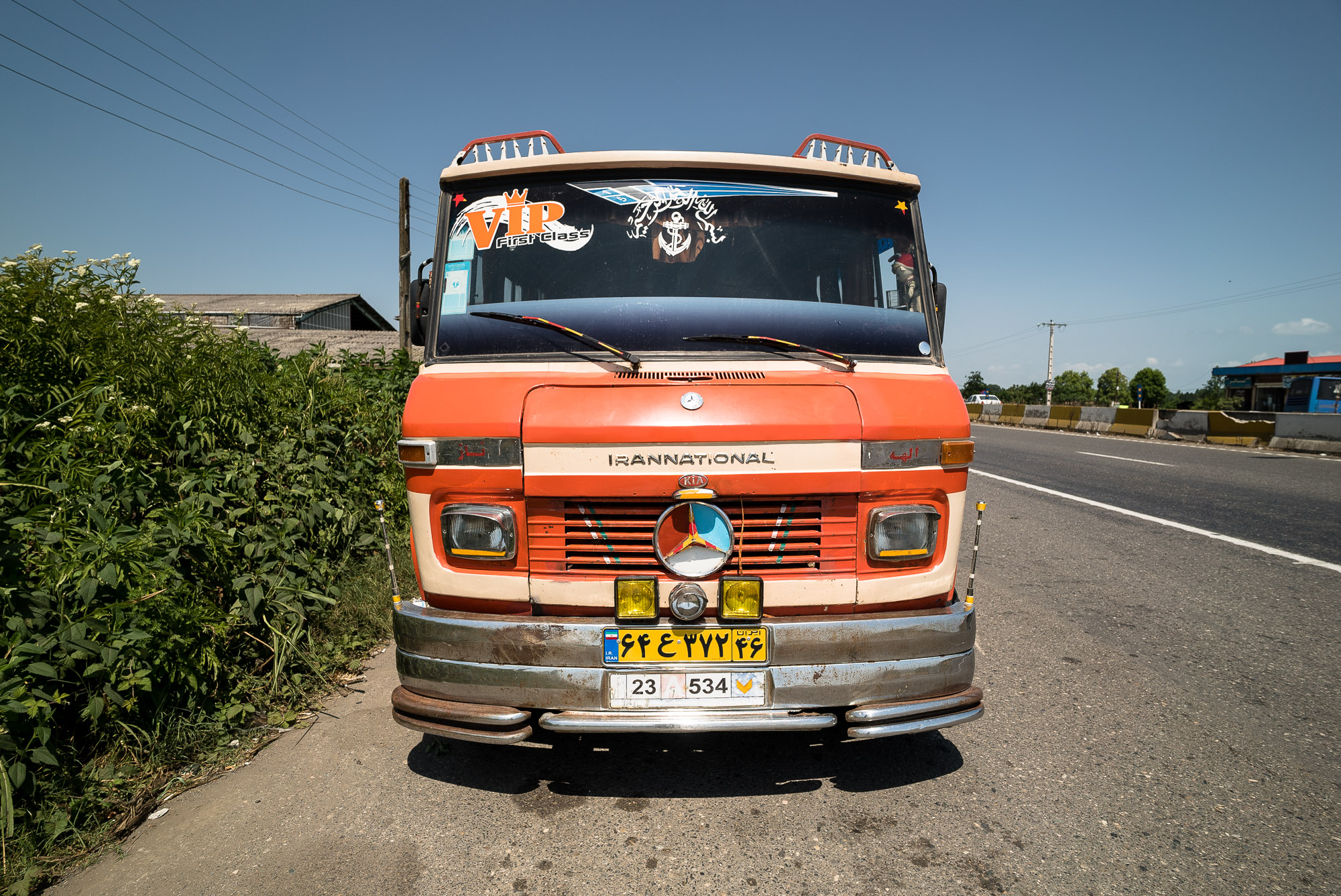 truck in Gilan