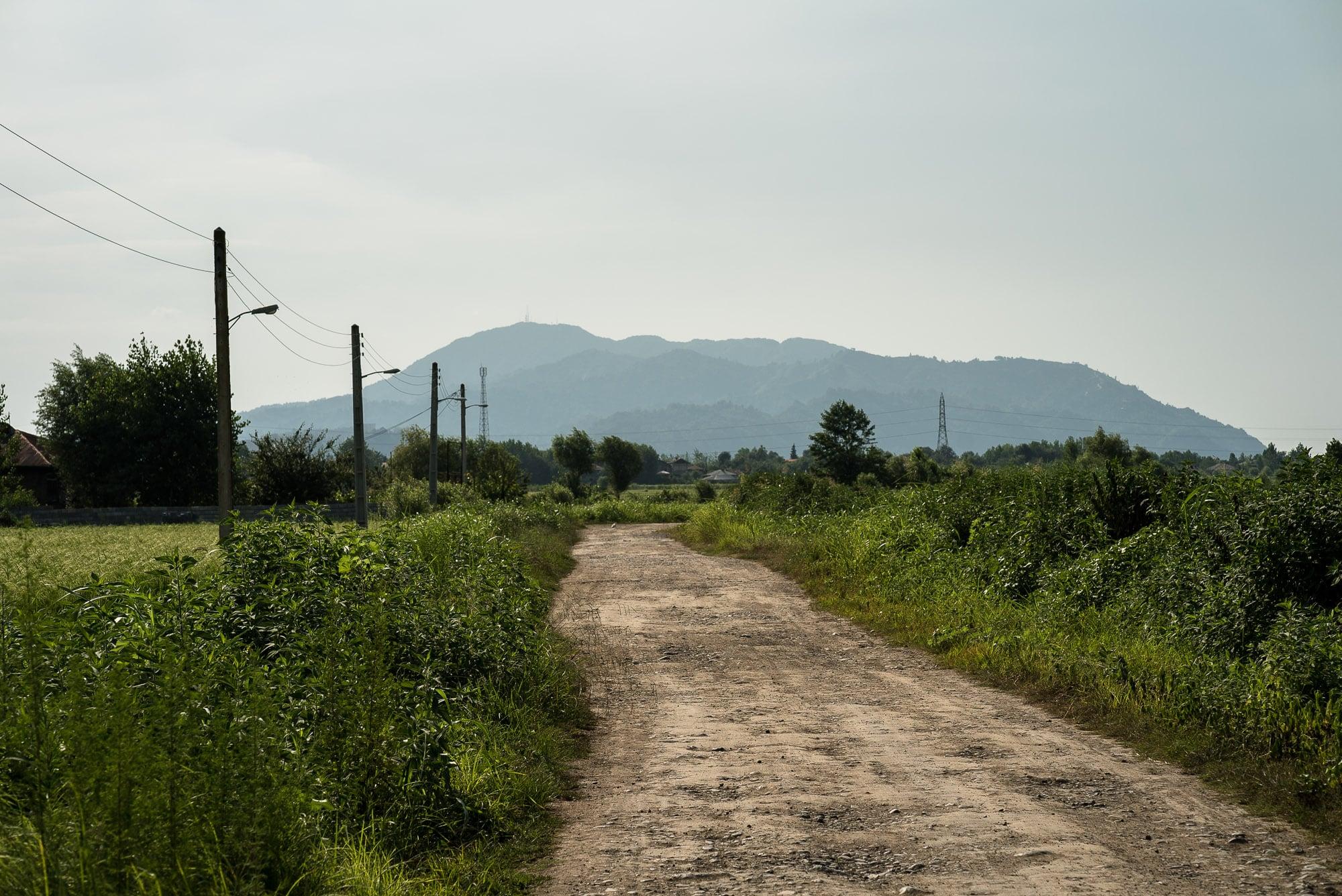path through Gilan