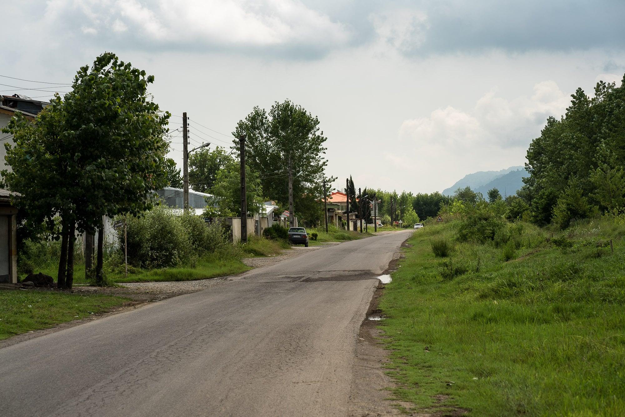 leaving Lahijan
