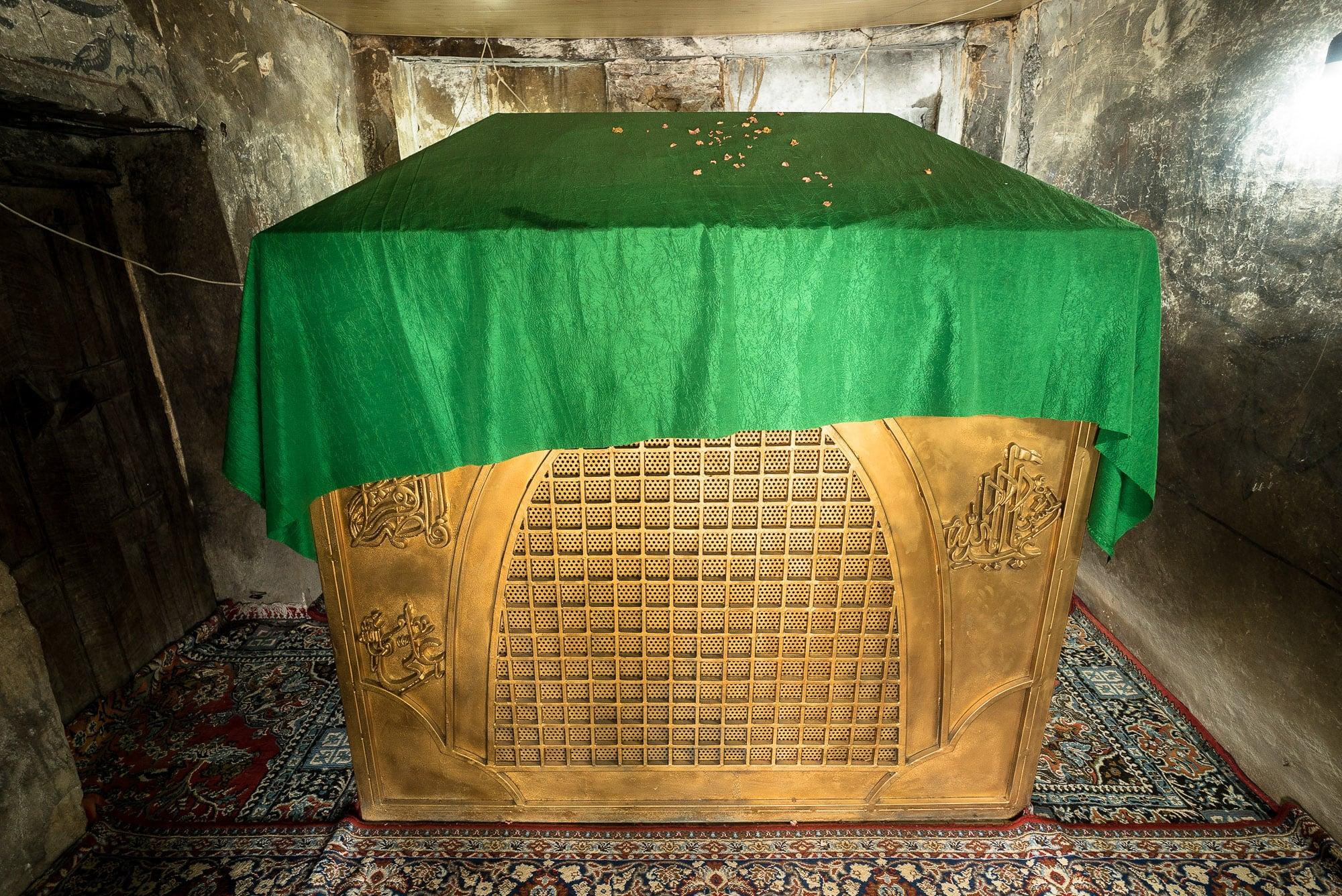 the shrine itself