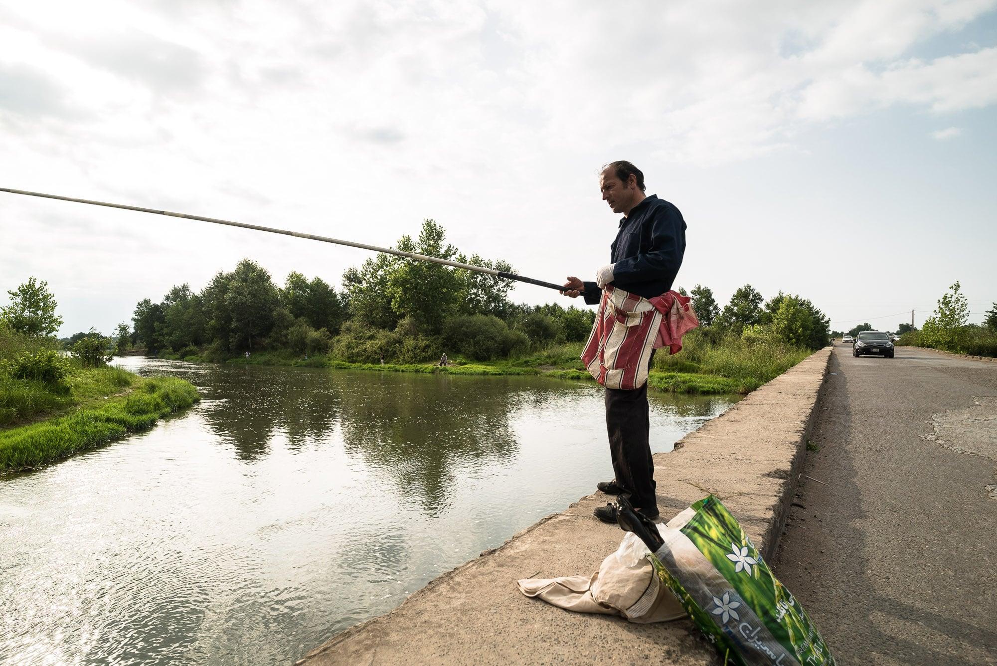 fishing dude