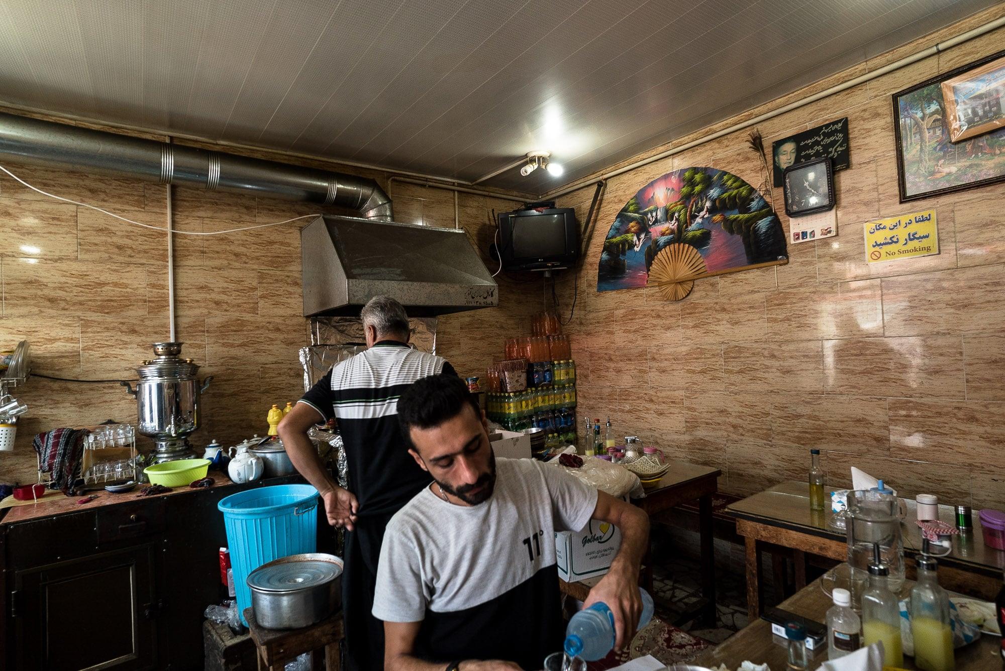 breakfast in Khomam