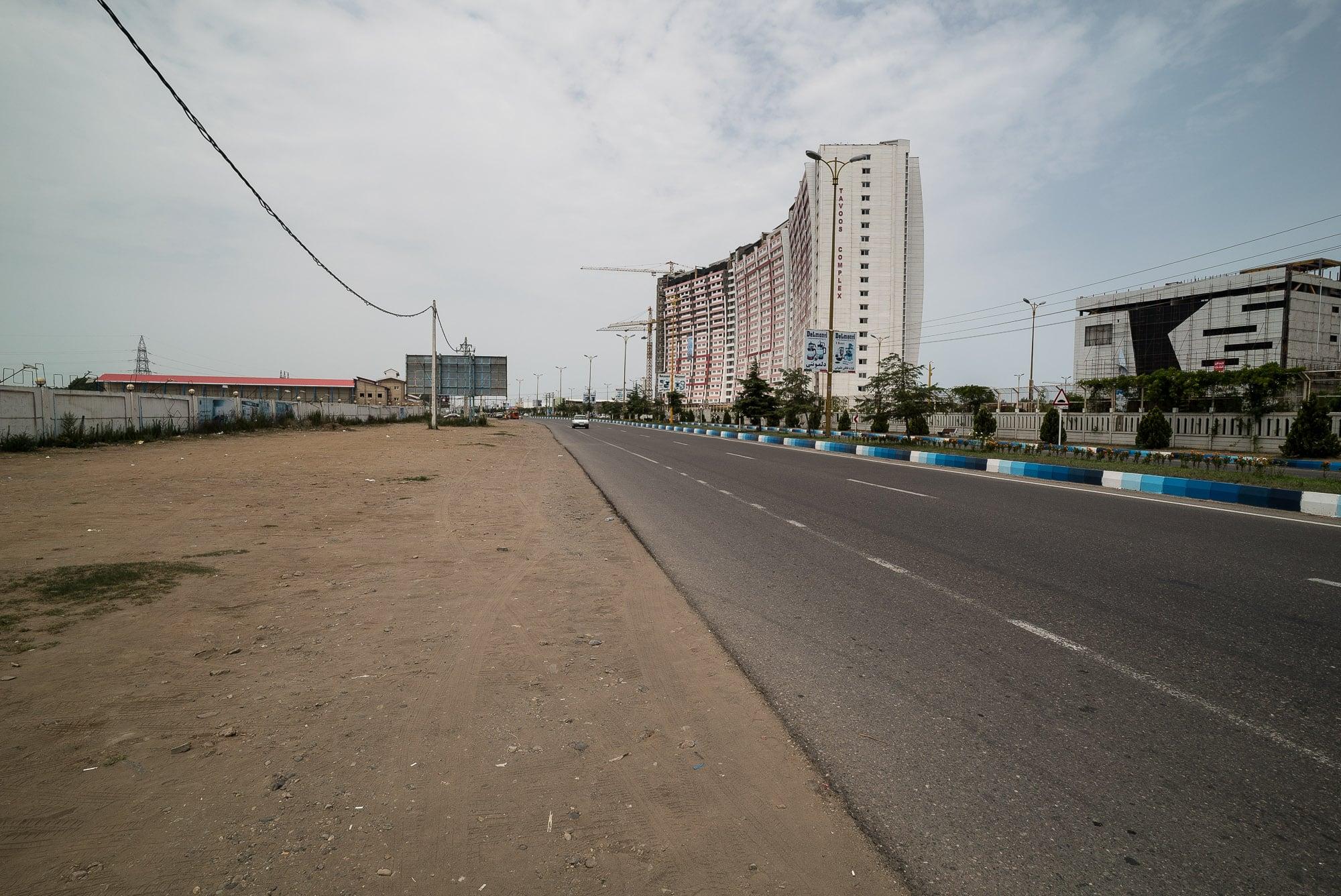 way to Bandar Anzali