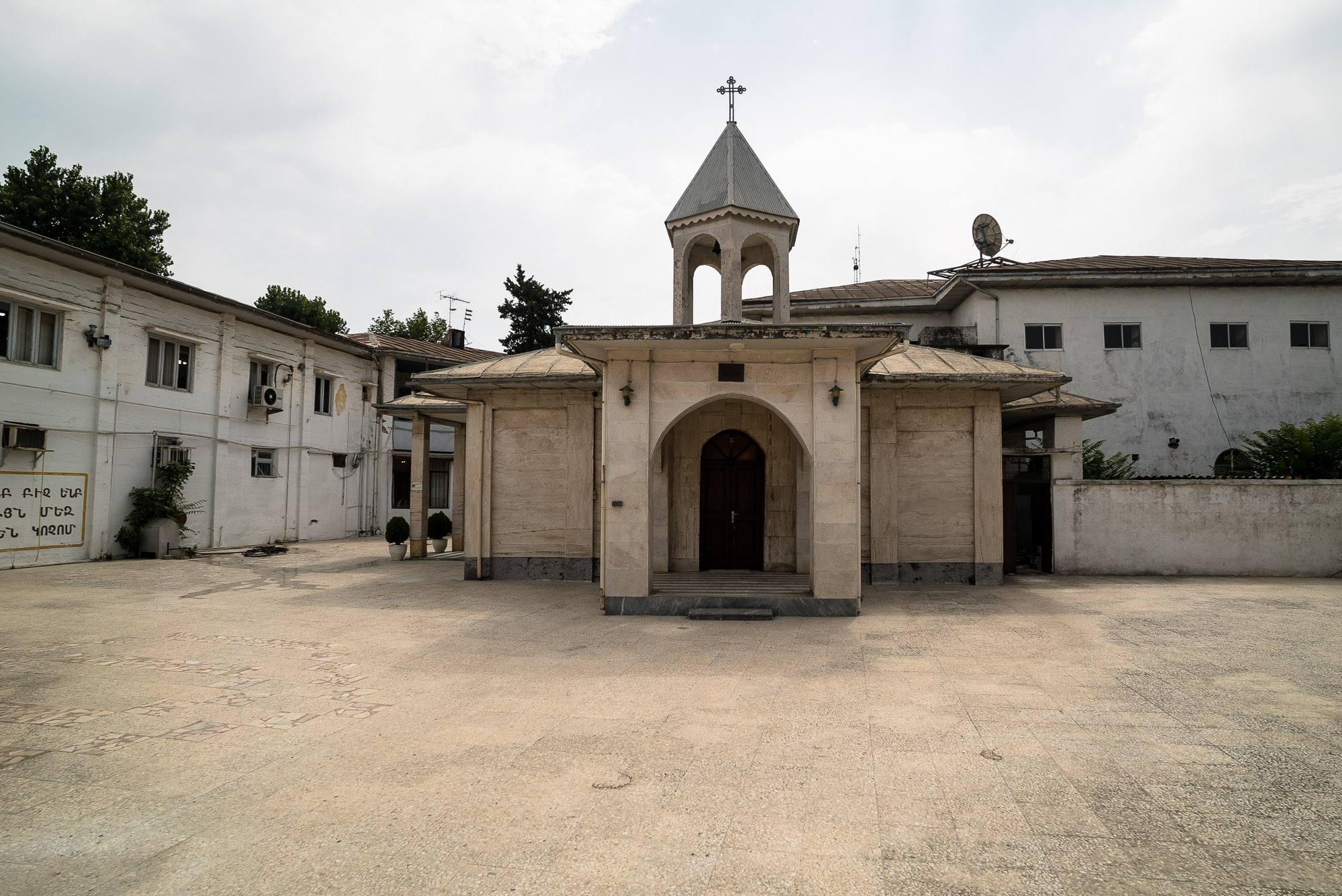 Armenian church in Bandar Anzali