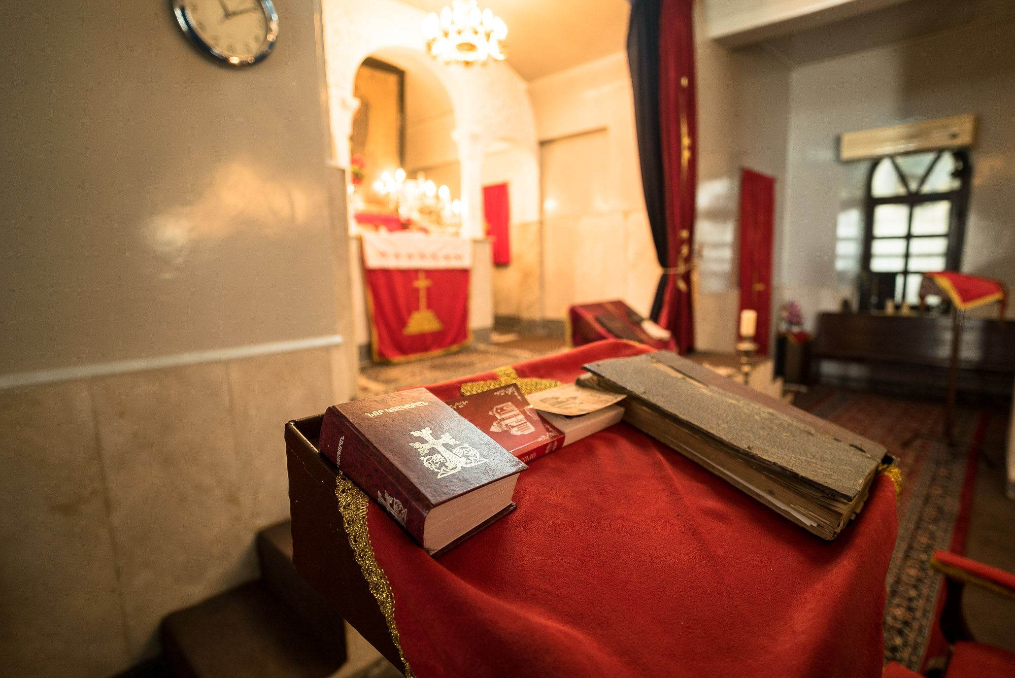 bible in the Armenian church