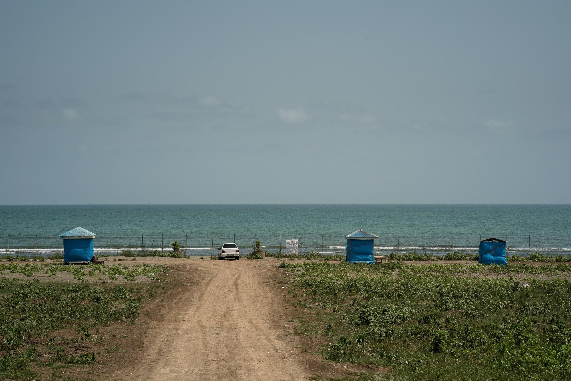 view of the Caspian