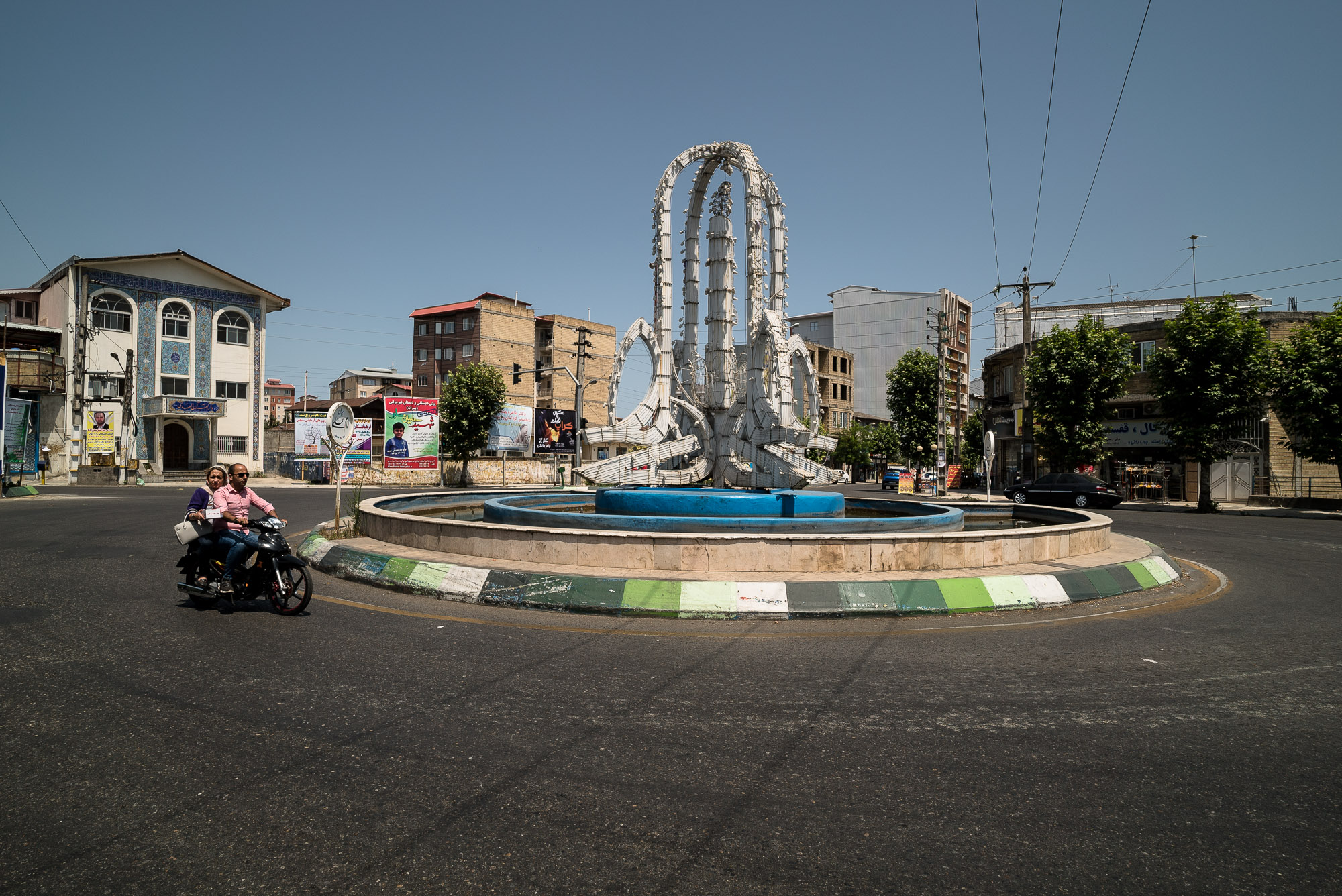 roundabout in Talesh