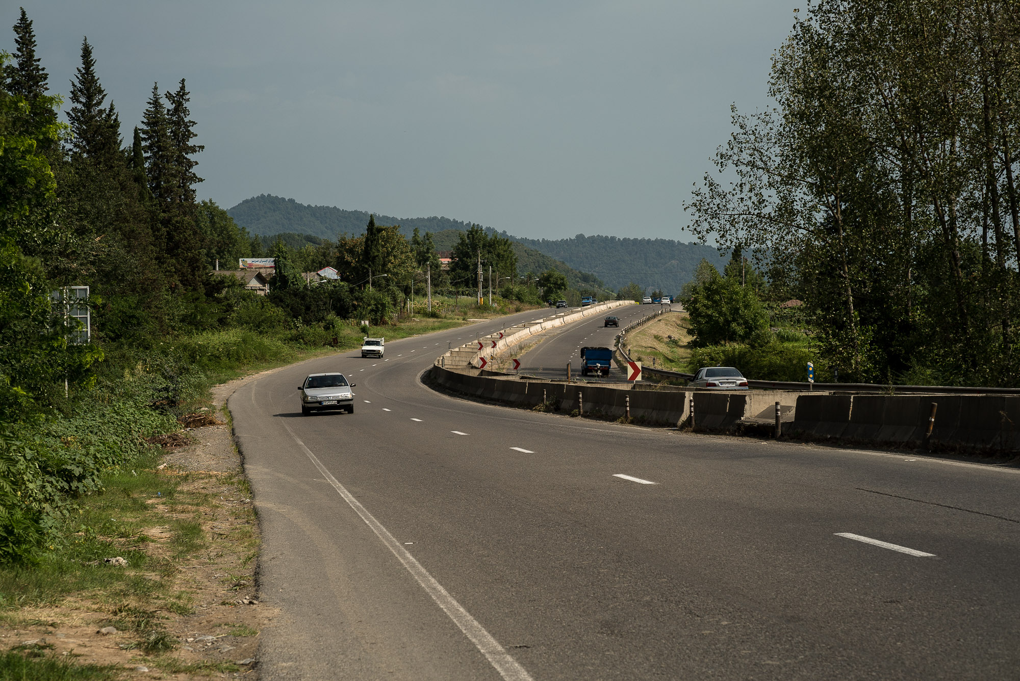 road out of Talesh