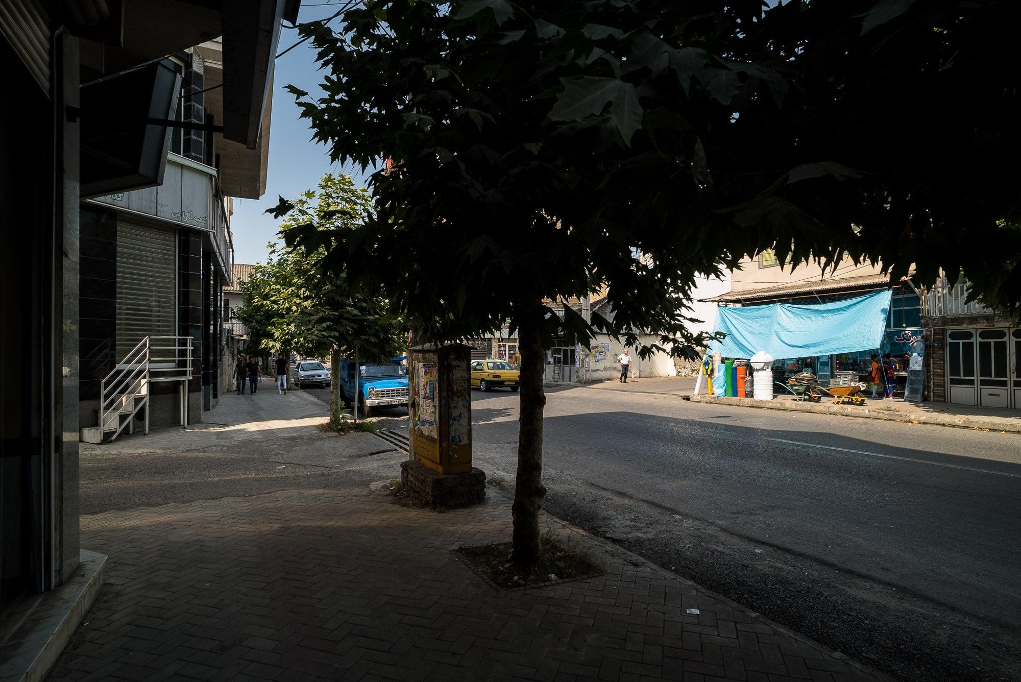 street in Astara