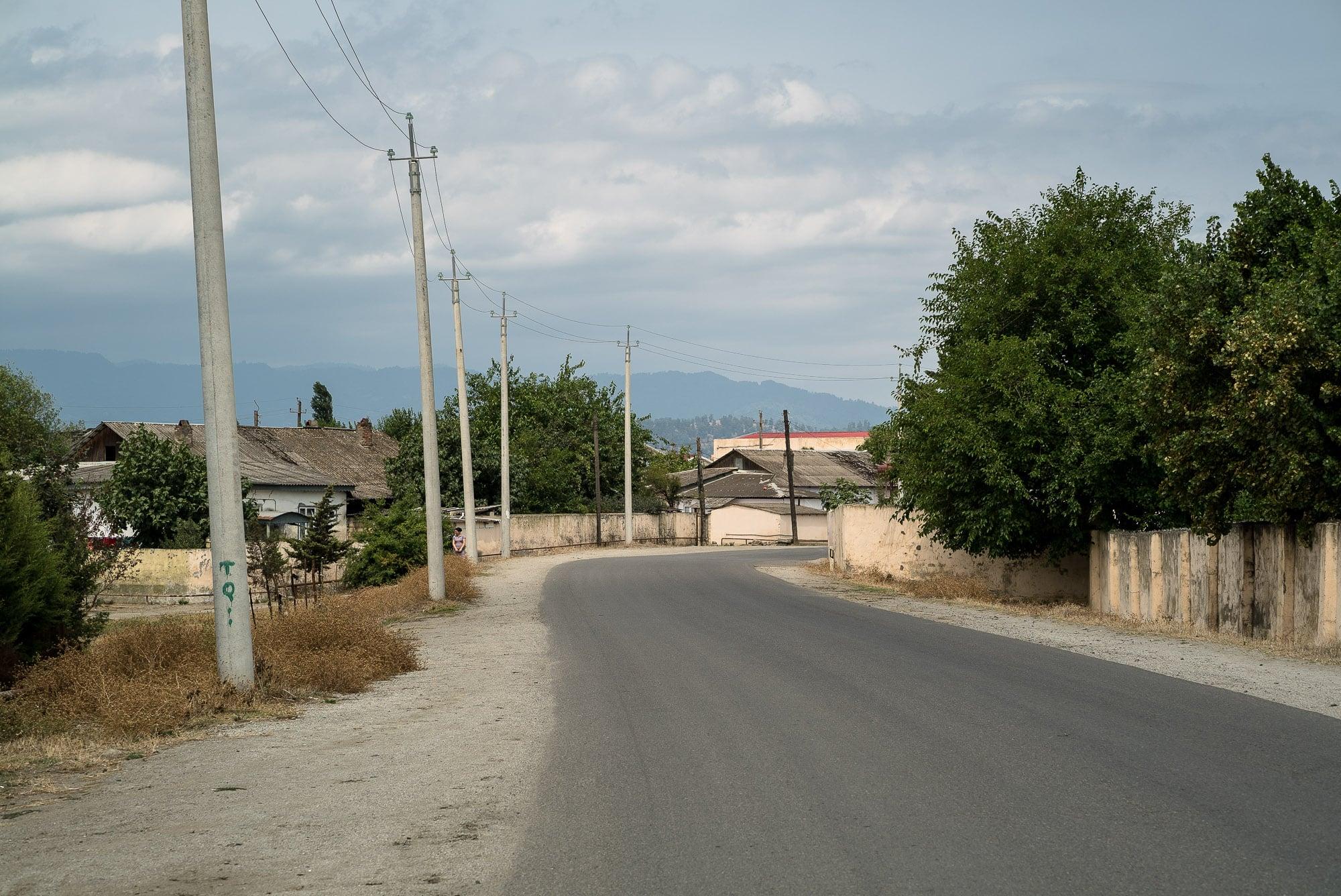 road in Azerbaijan