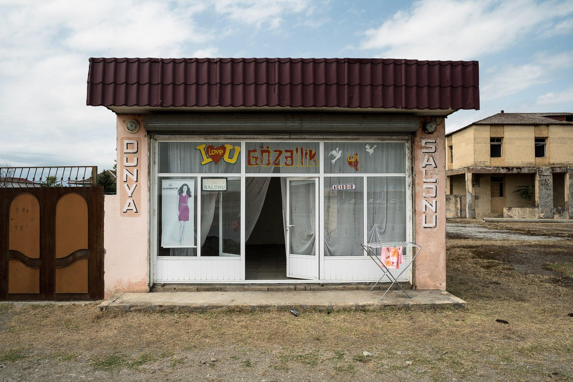 beauty salon in Azerbaijan