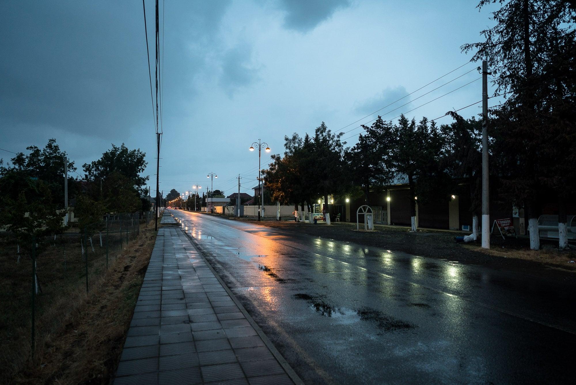 rain in Lankaran