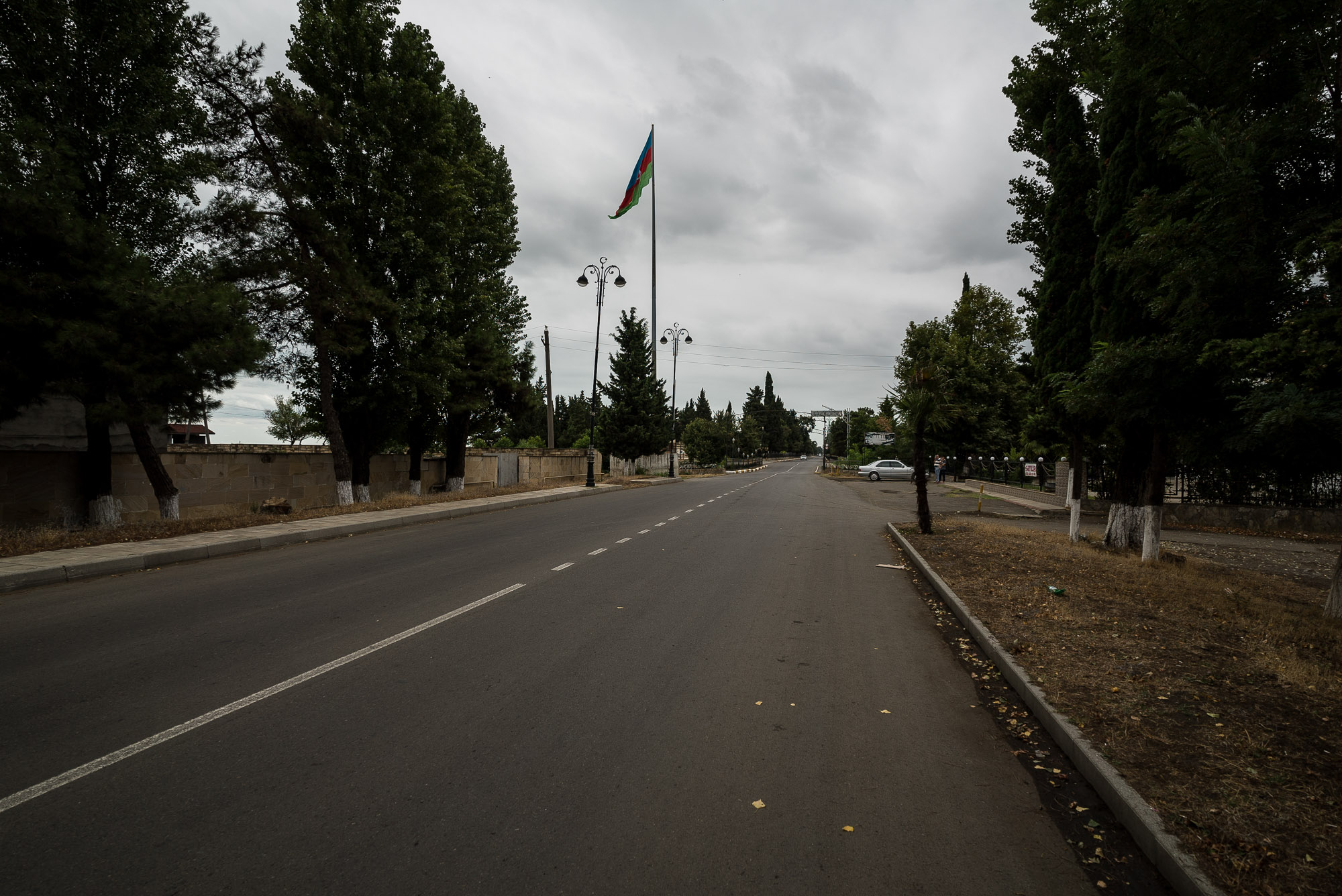 road out of Lankaran