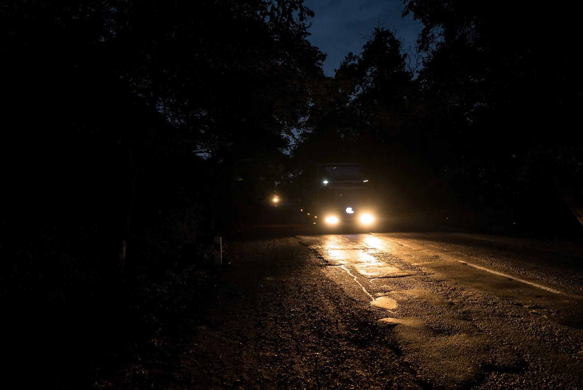 nightly walking