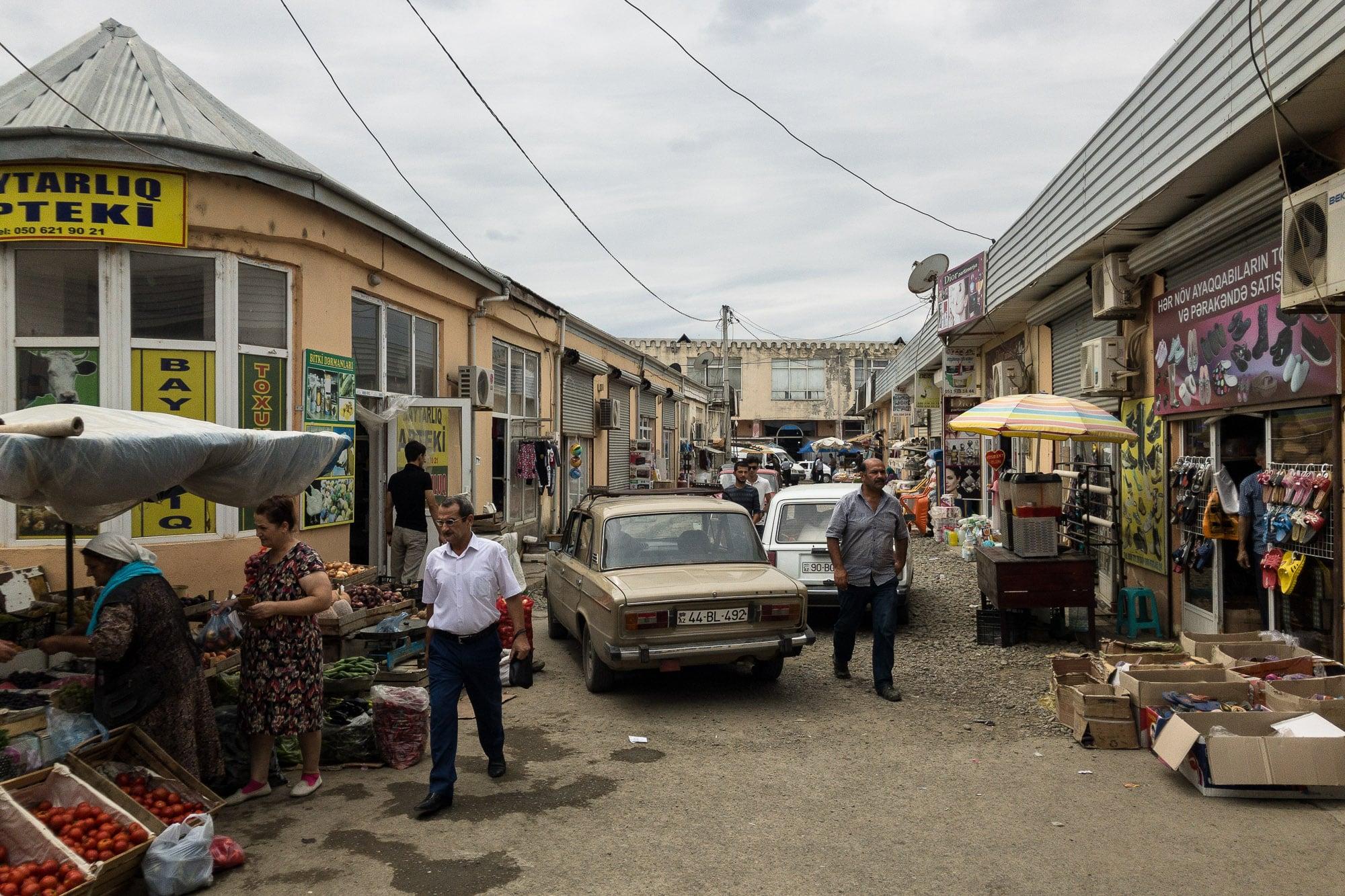 Masalli old bazaar