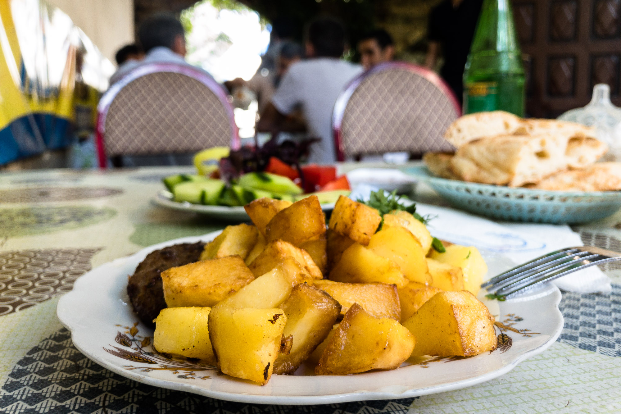 potatoes in Salyan