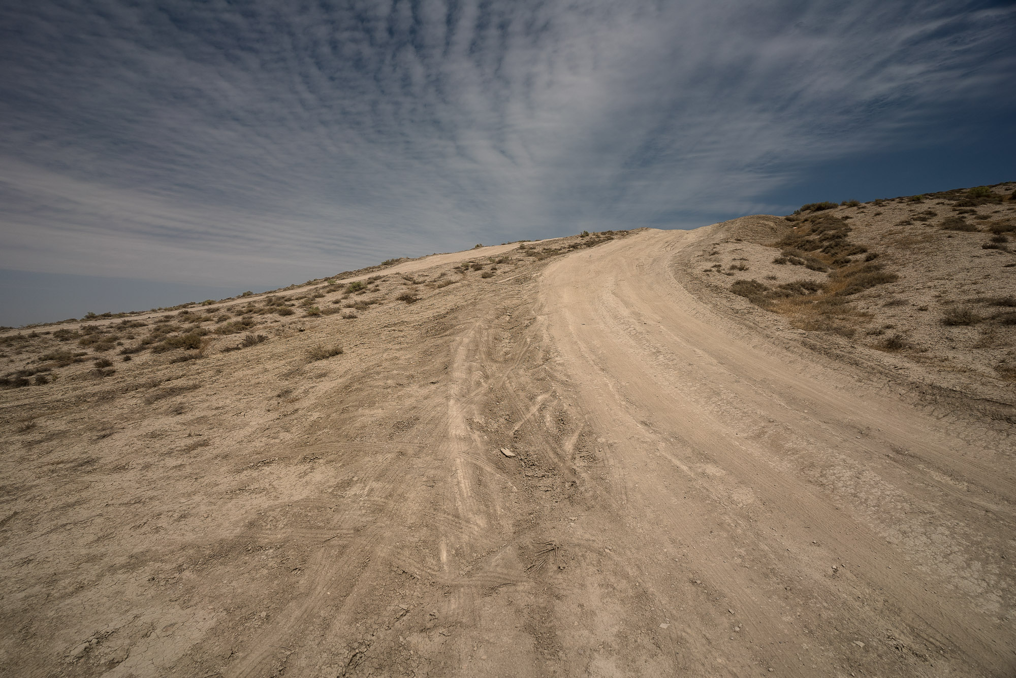 way to the mud volcano