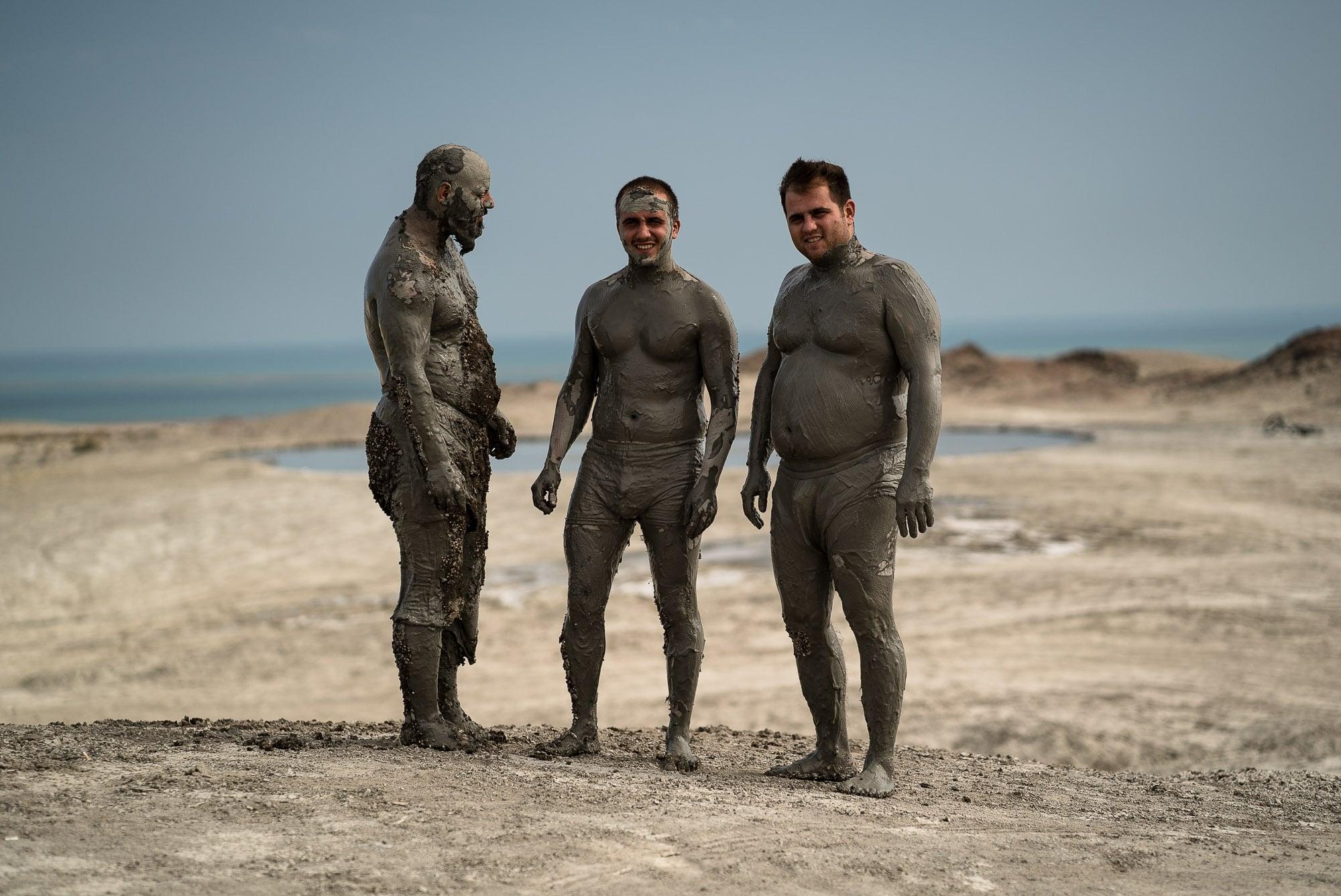 mud bathers