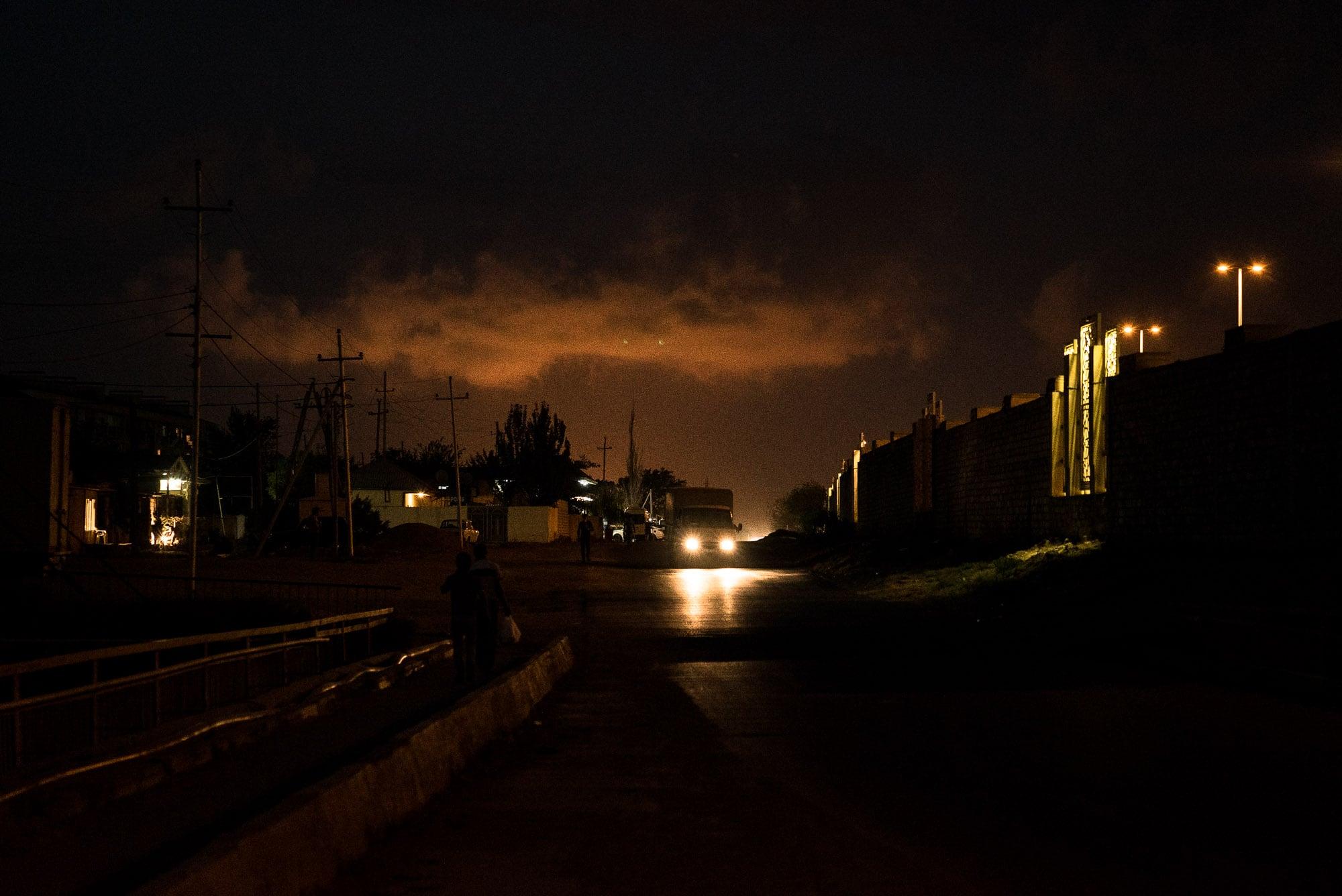night in Qobustan