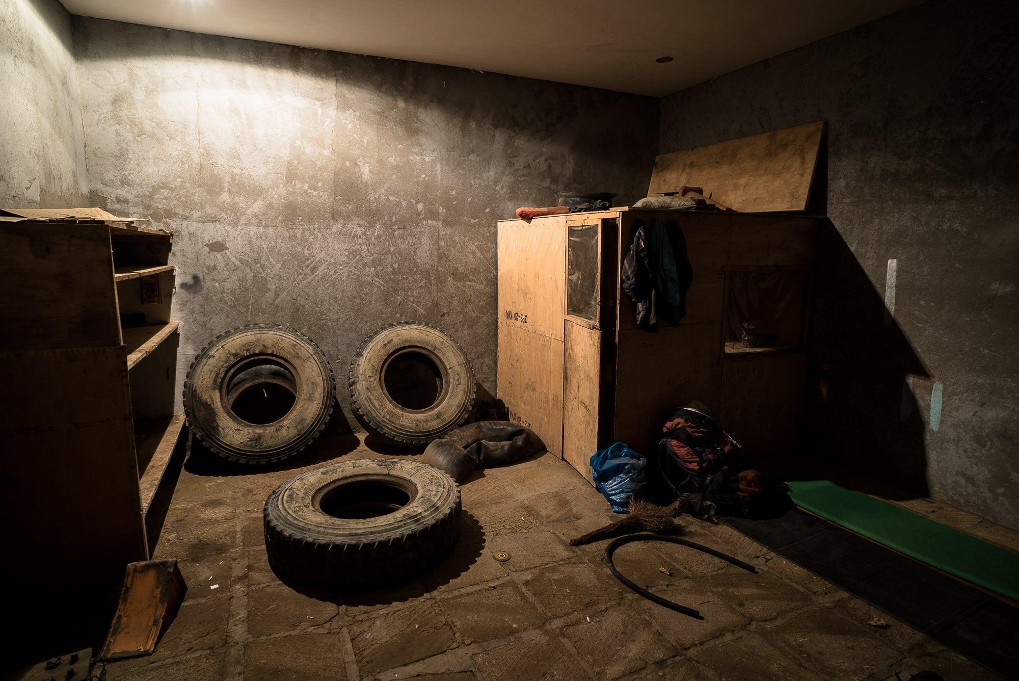 garage in Qobustan