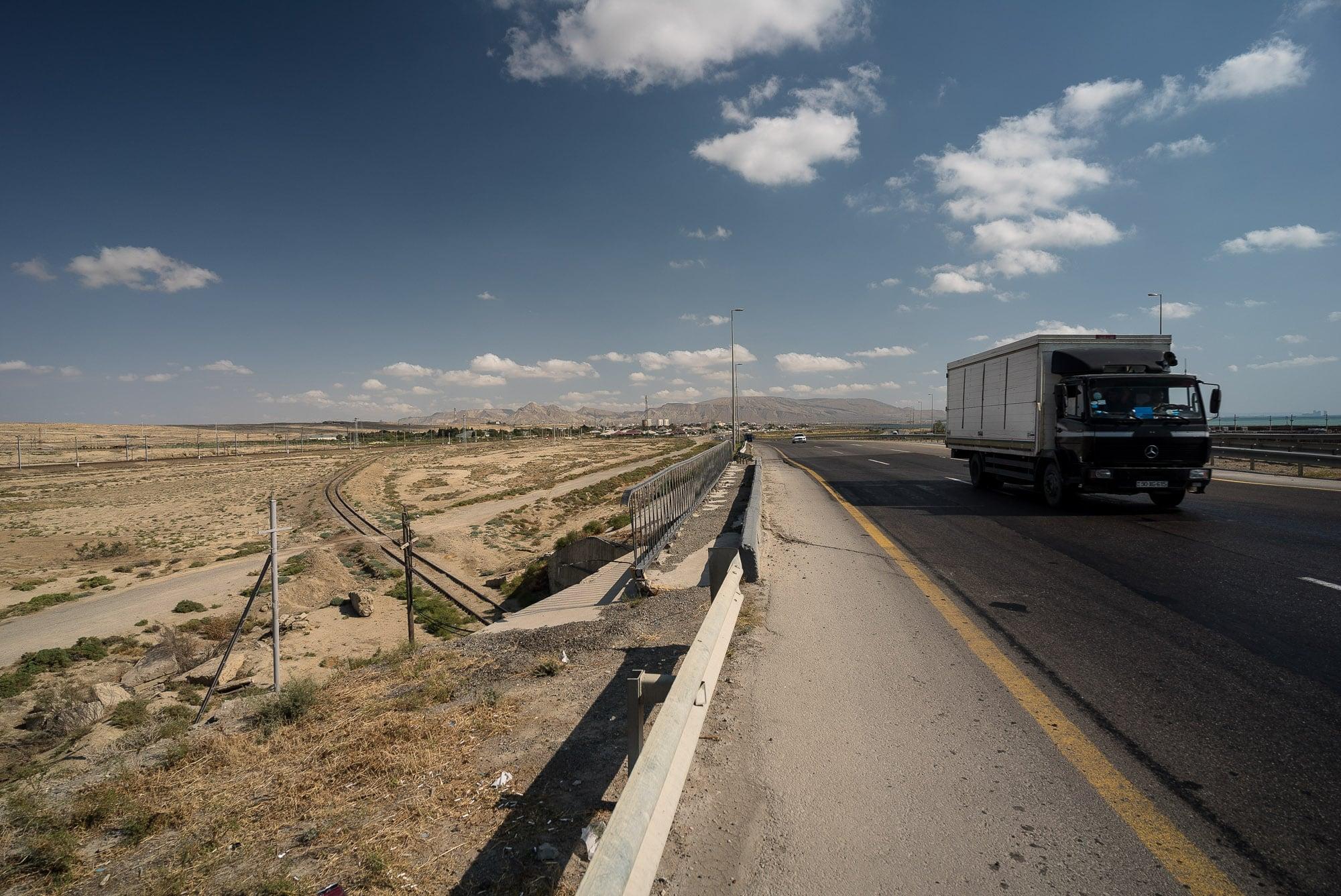 highway to Baku