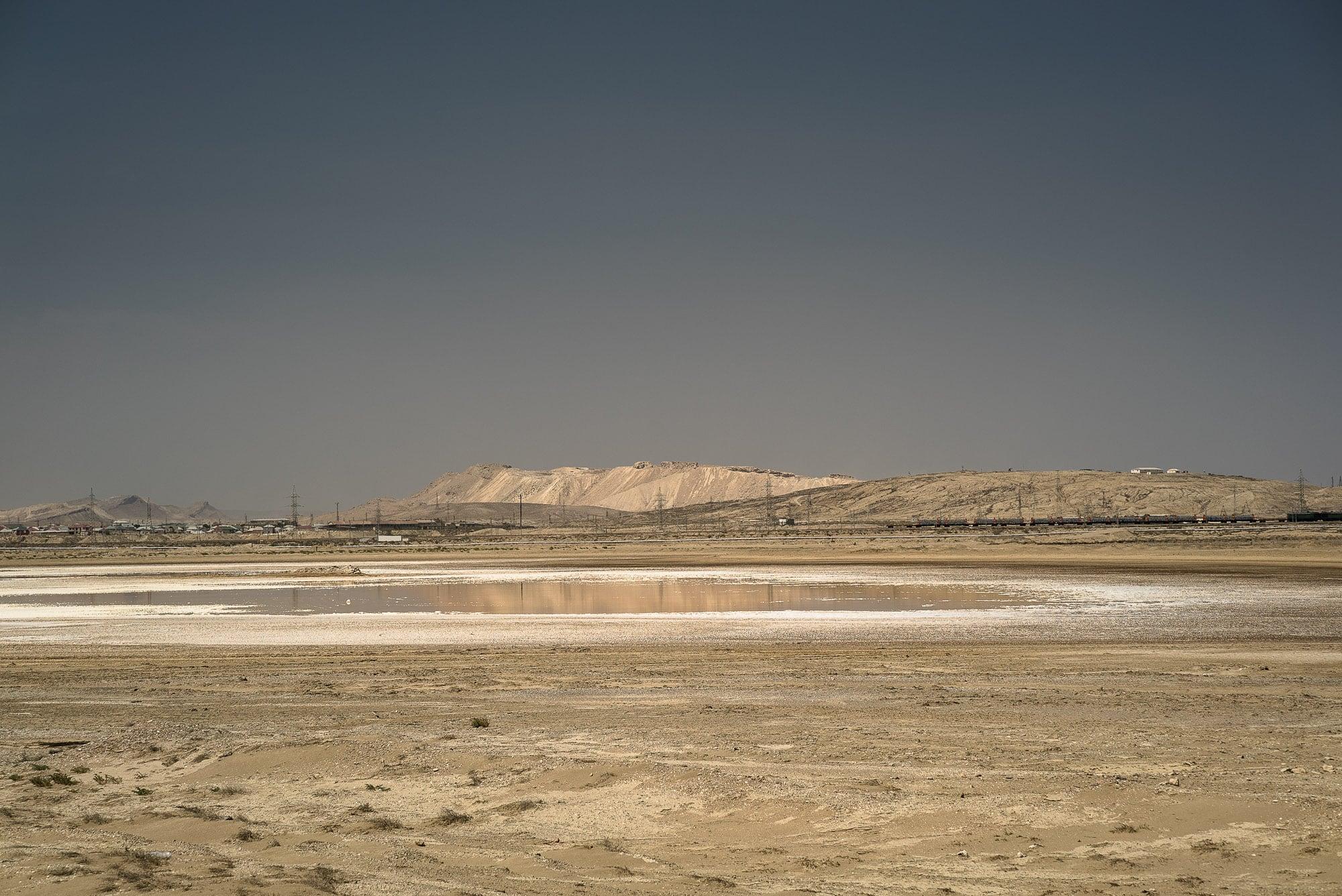 salt water near Baku