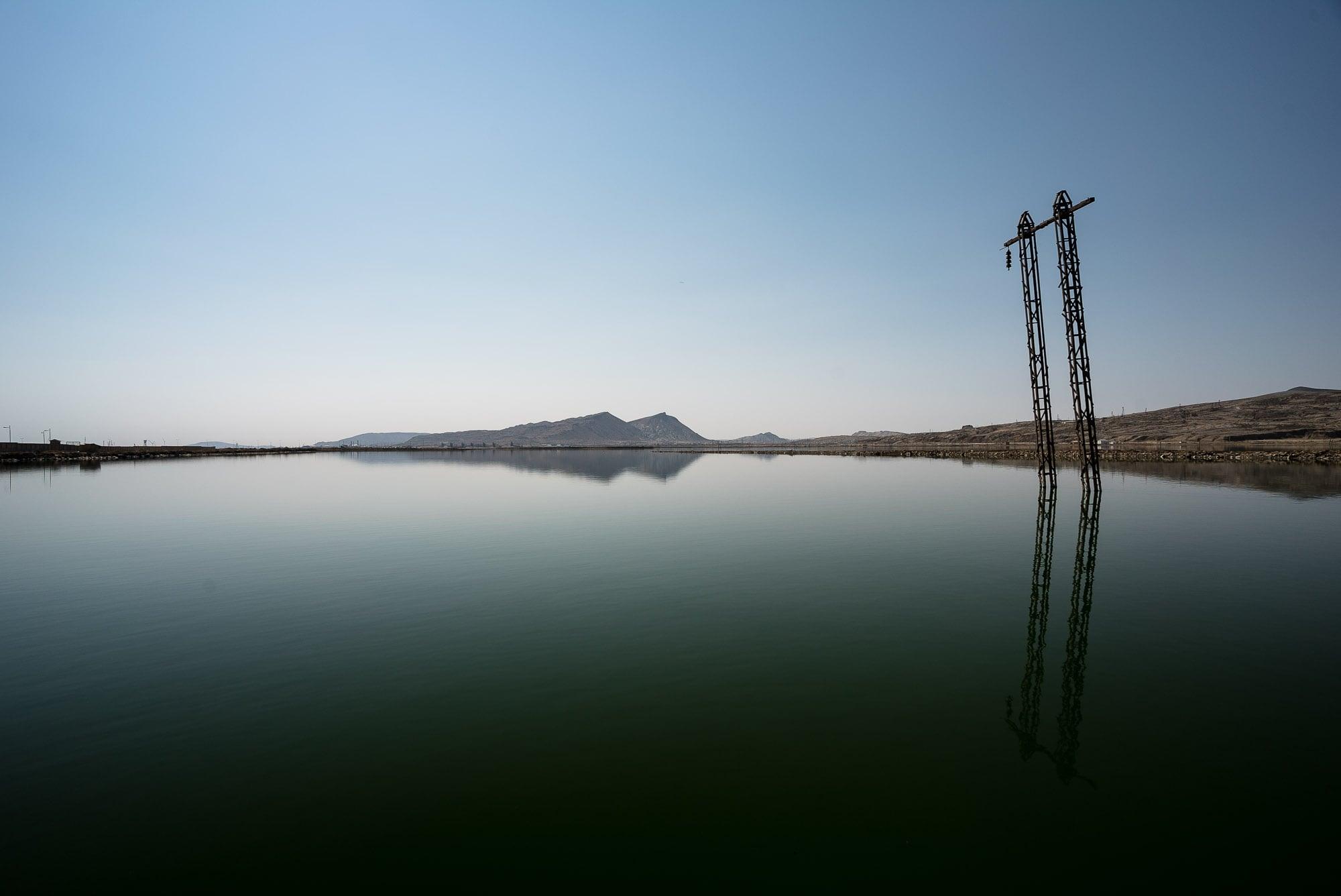 lake near Baku