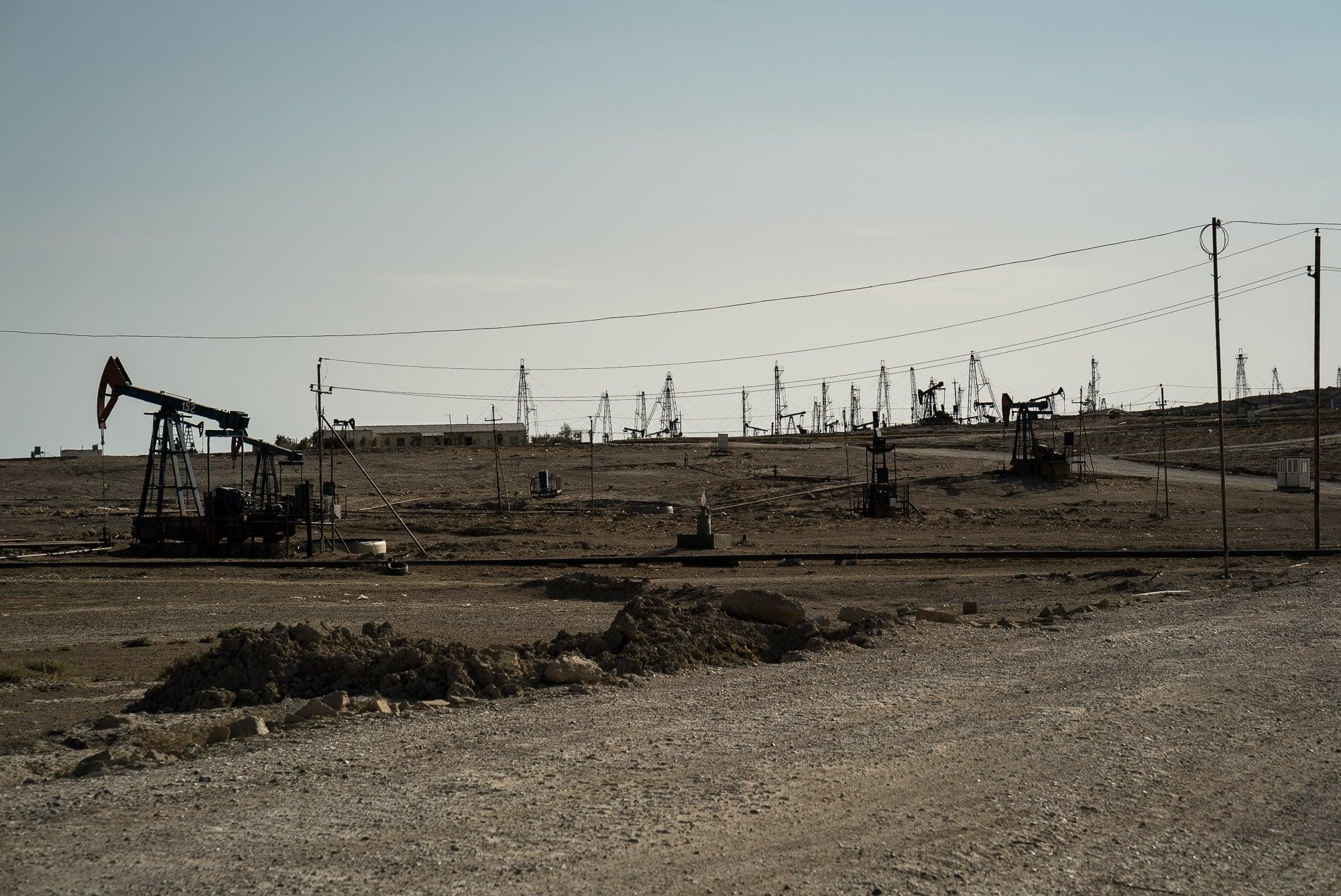 oil area