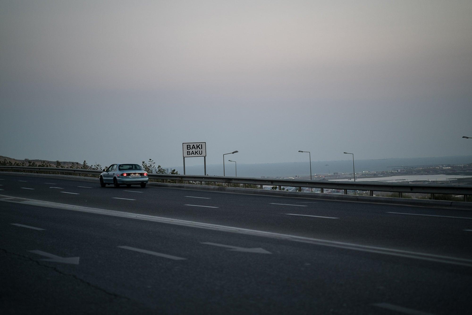 Baku city limits