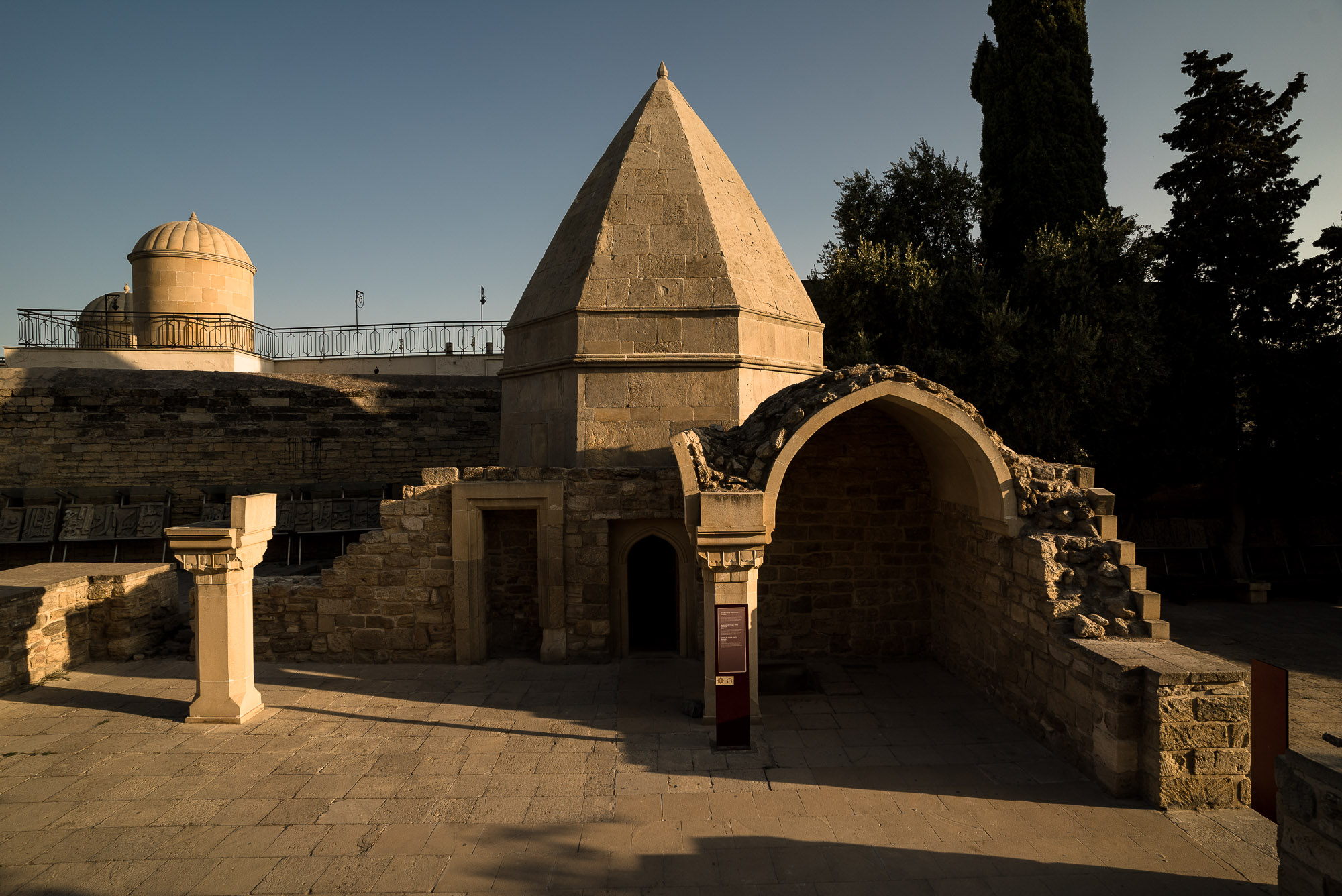 mausoleum in the Palace of the Shirvanshahs