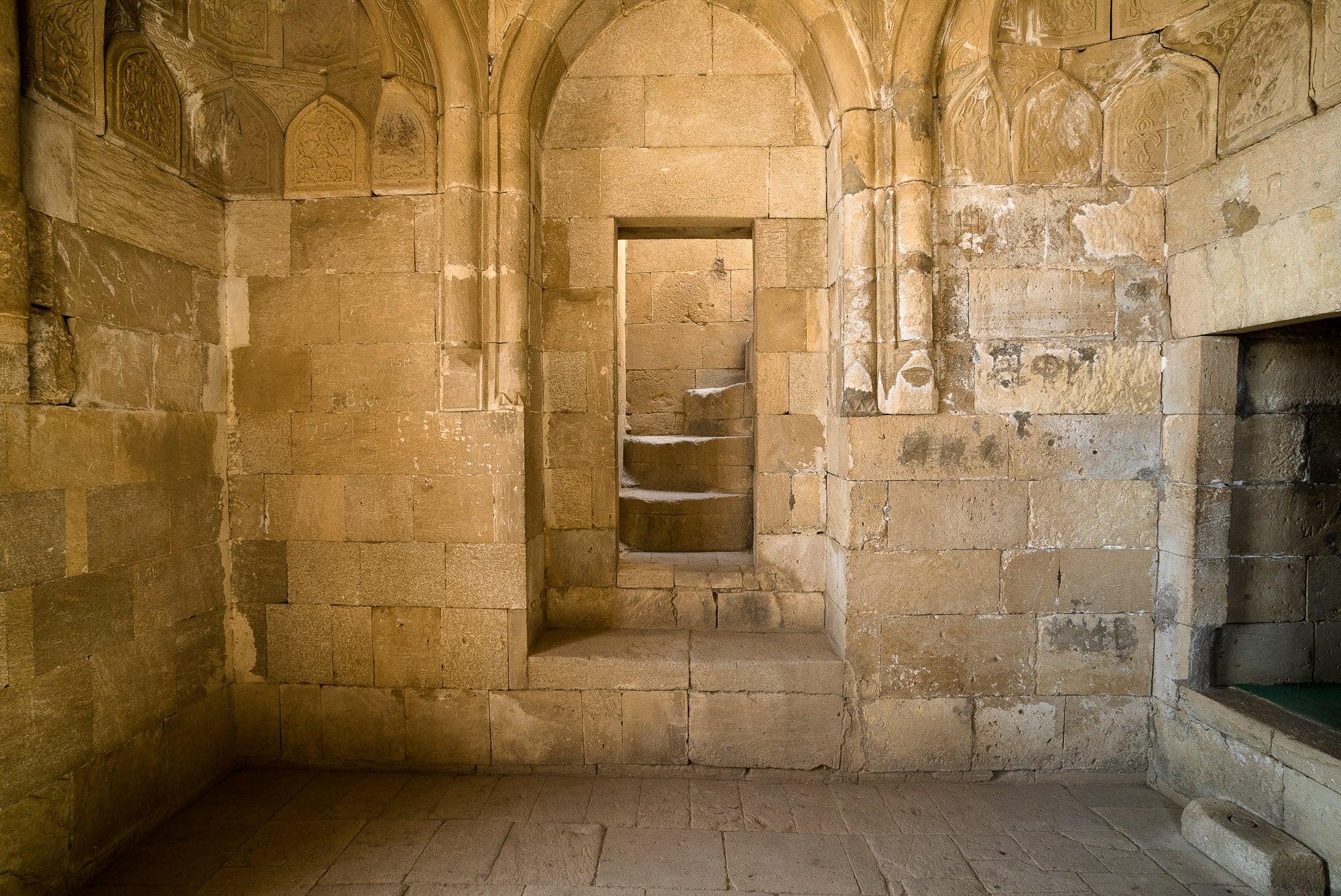 stairway of Diri Baba Turbesi