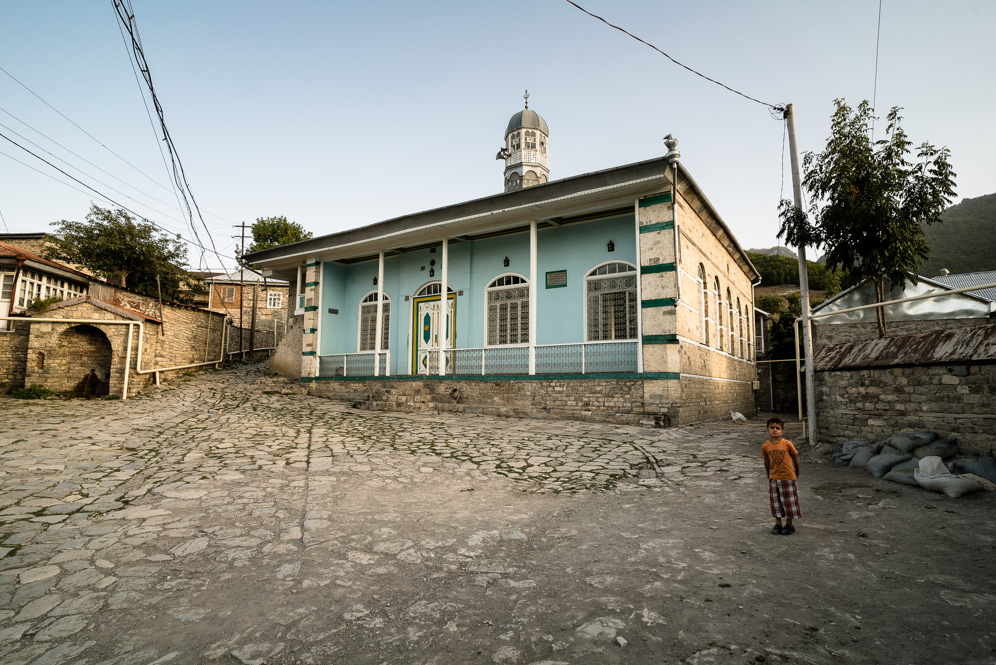 mosque in Lahij