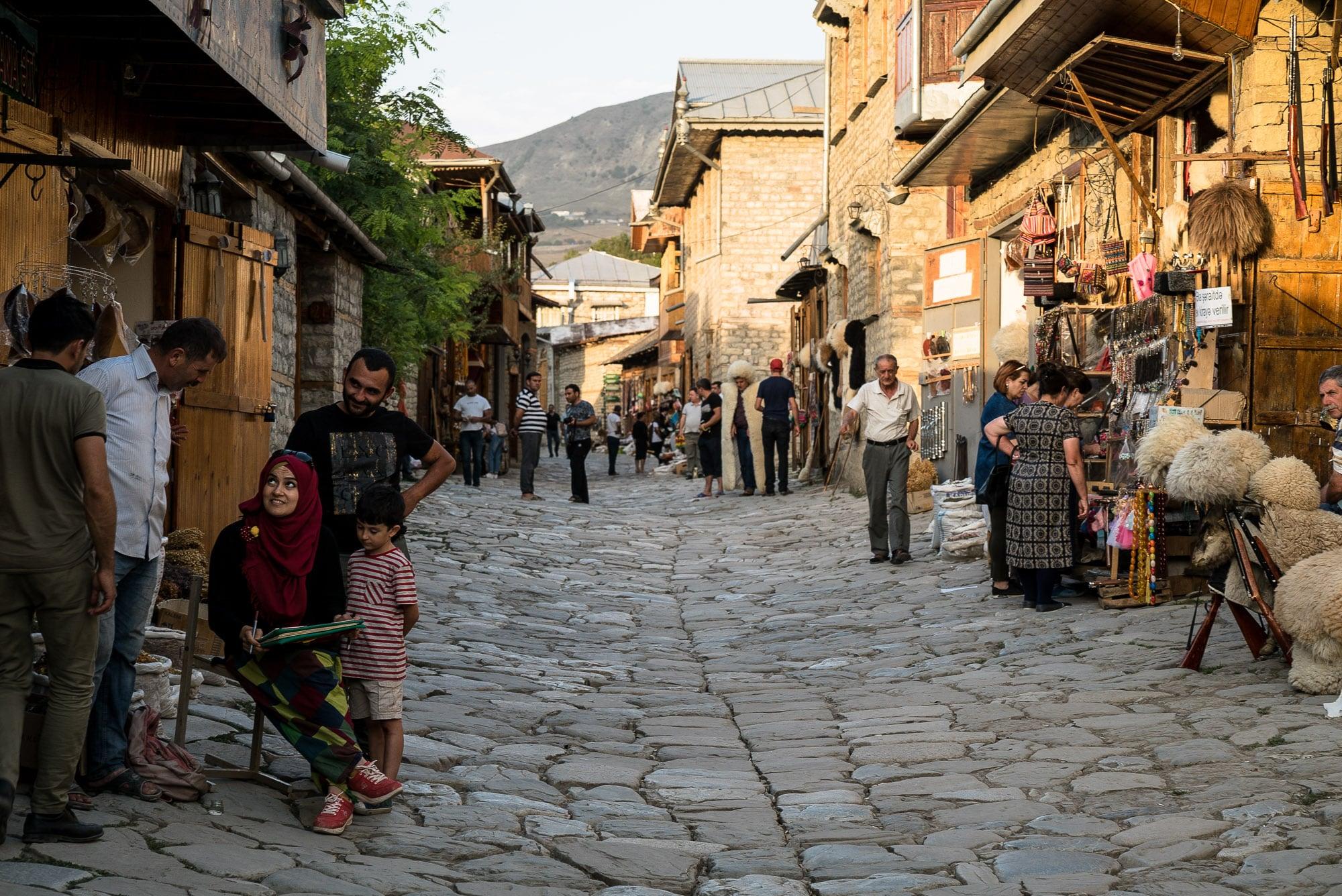 street in Lahij