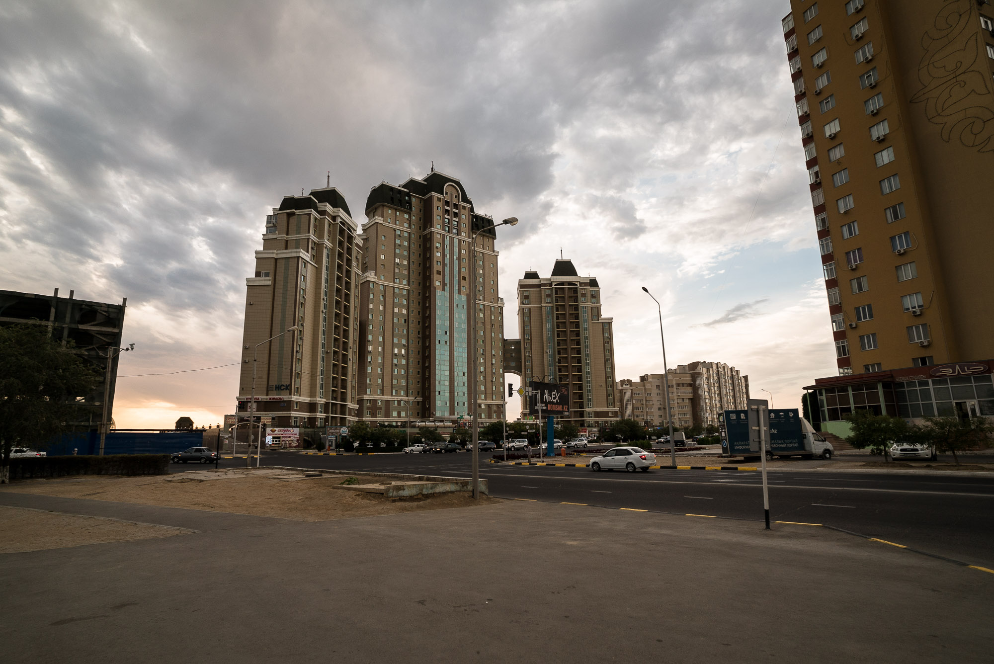 new part of Aktau