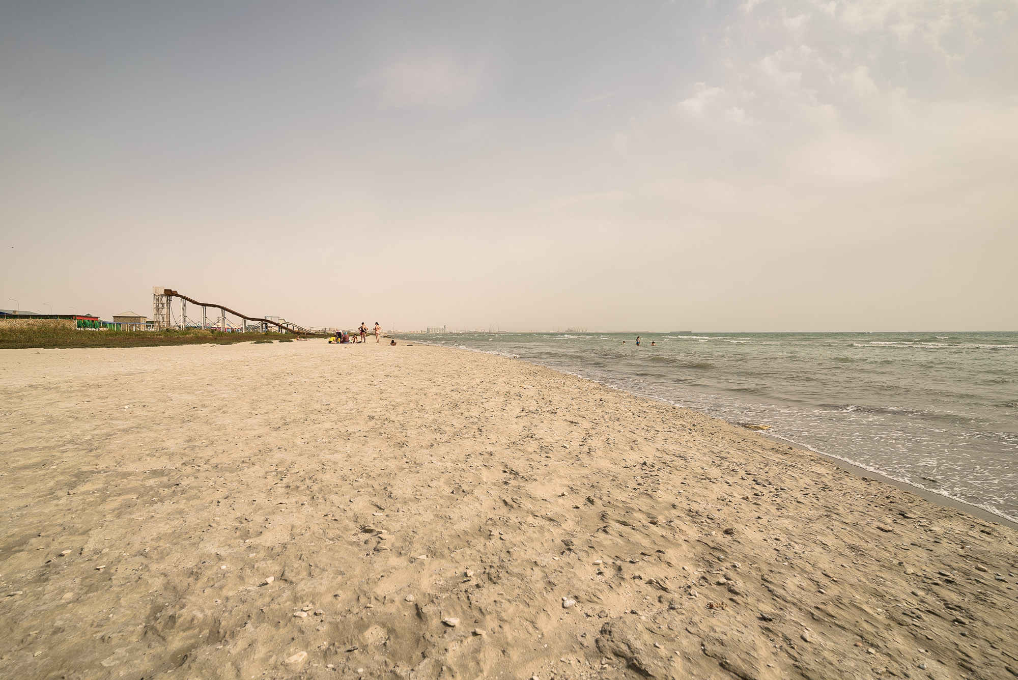 beach in Aktau